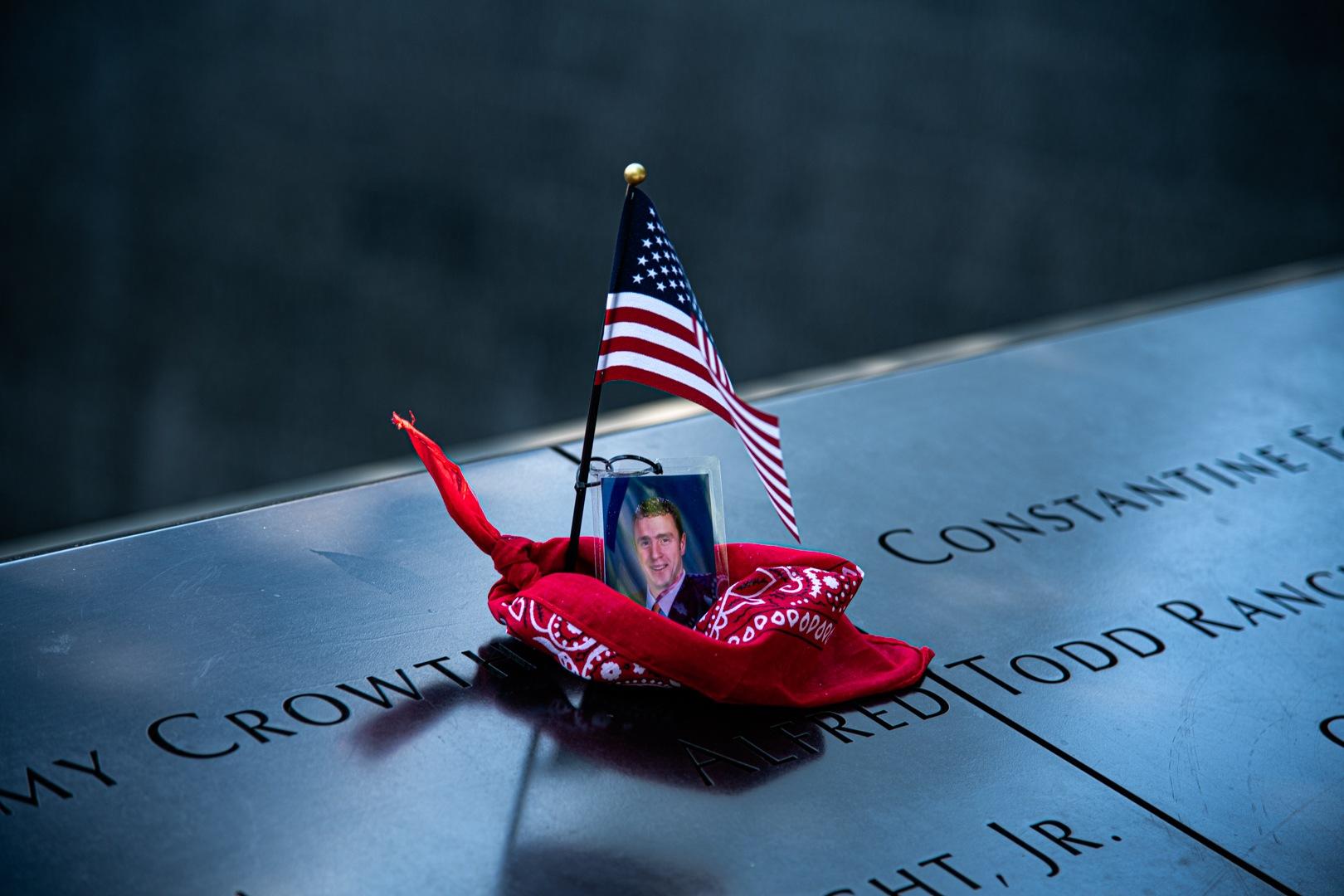 Trade Centre Memorial by Kyle Pieri