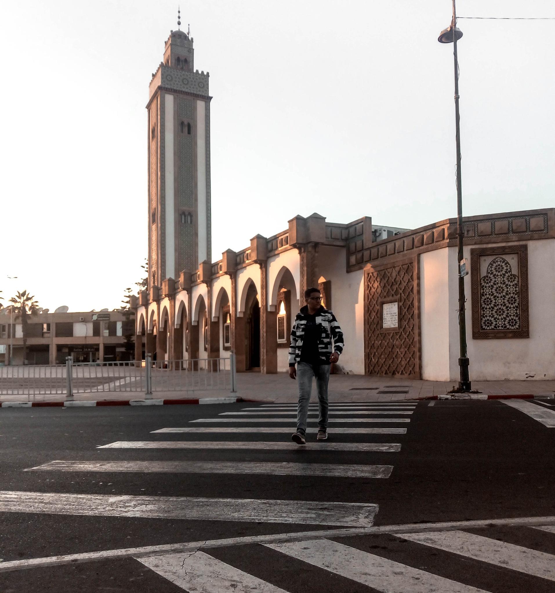 the big mosque by Bachir Haddi