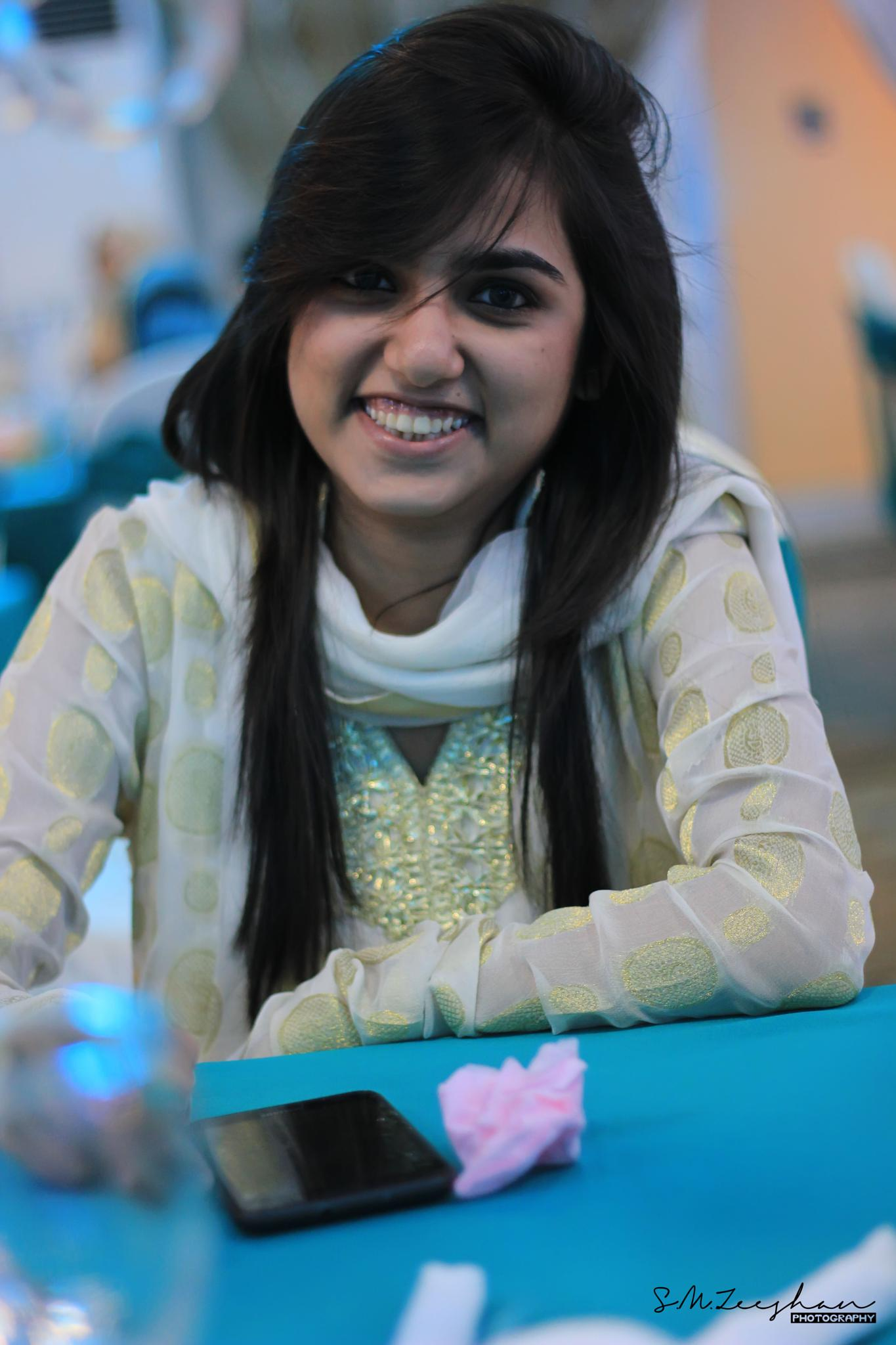 Smile :D by SMZeeshanphotography