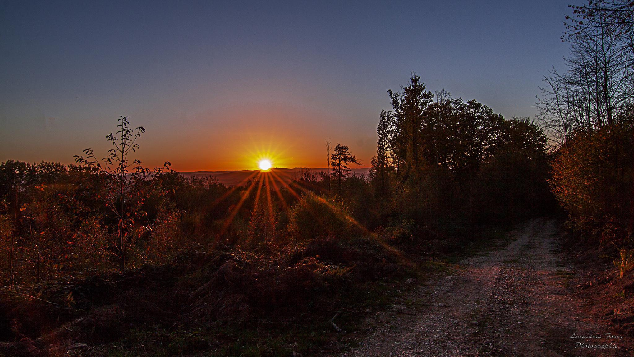 Sunset 31/10/2014 by LivradoisForezPhotographie
