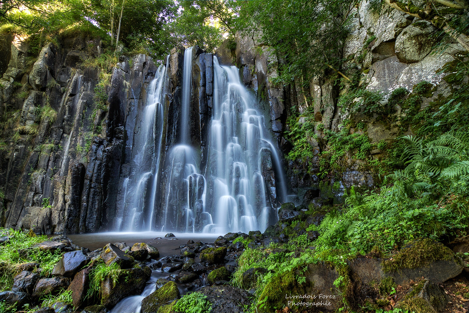 Cascade de la Terrisse by LivradoisForezPhotographie