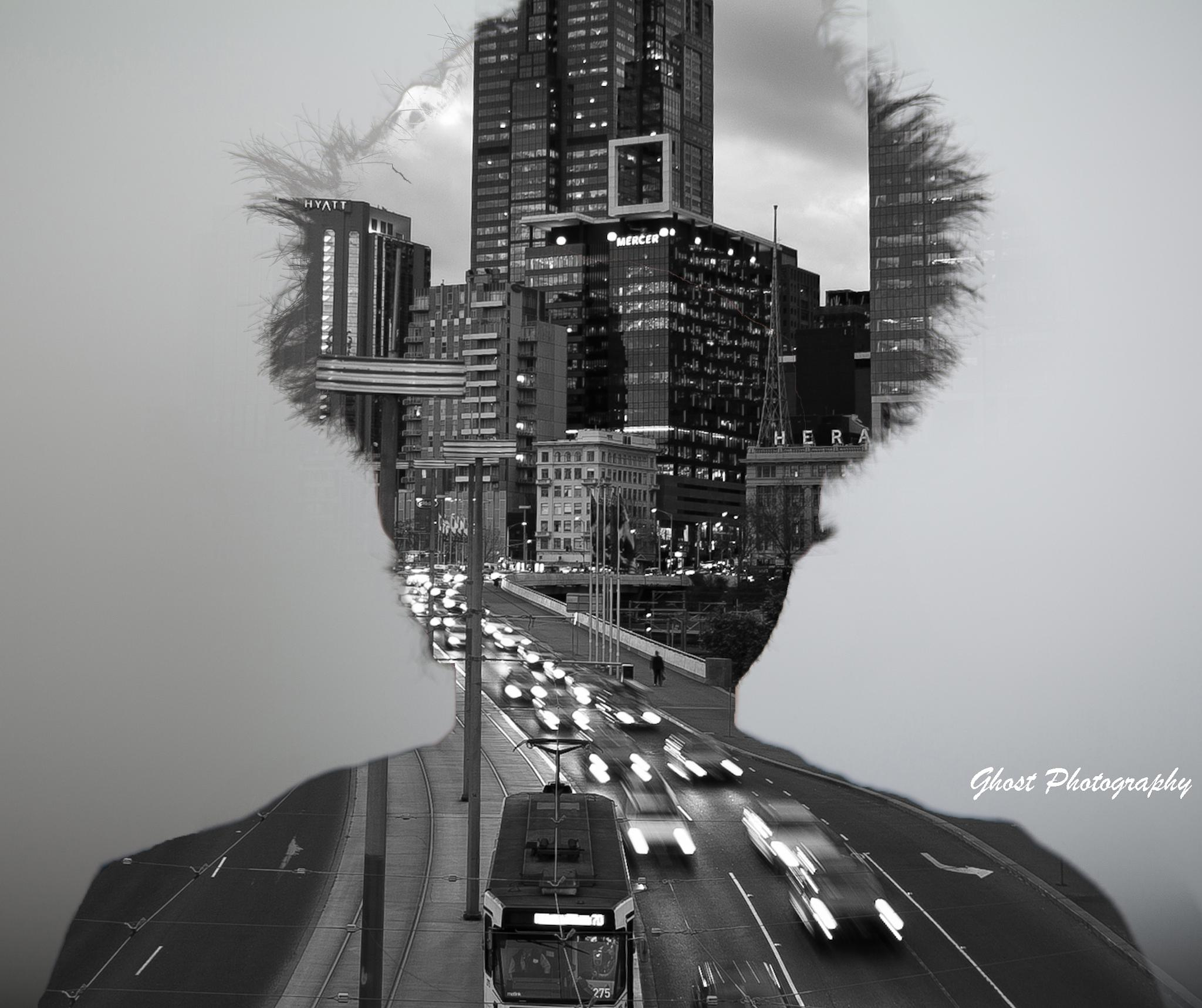 Double exposure by TetoPhotography