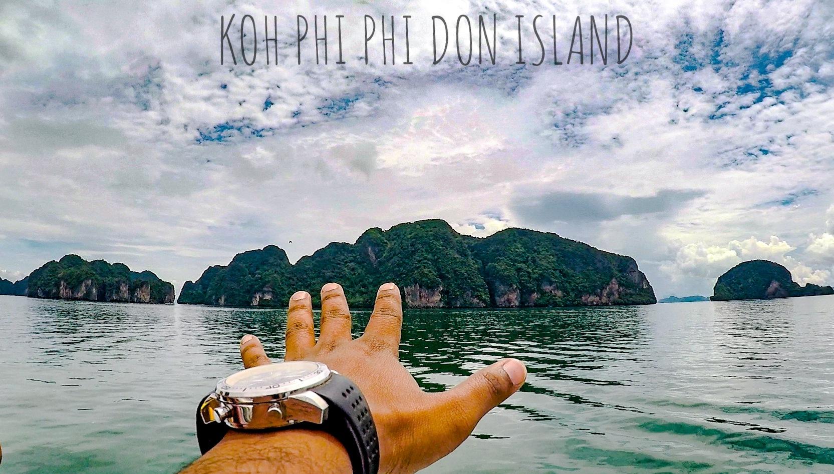 Koh Phi Phi Don by Arnab Chowdhury