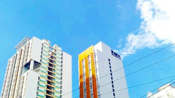 manila buildings by Sienne Camara Domingo