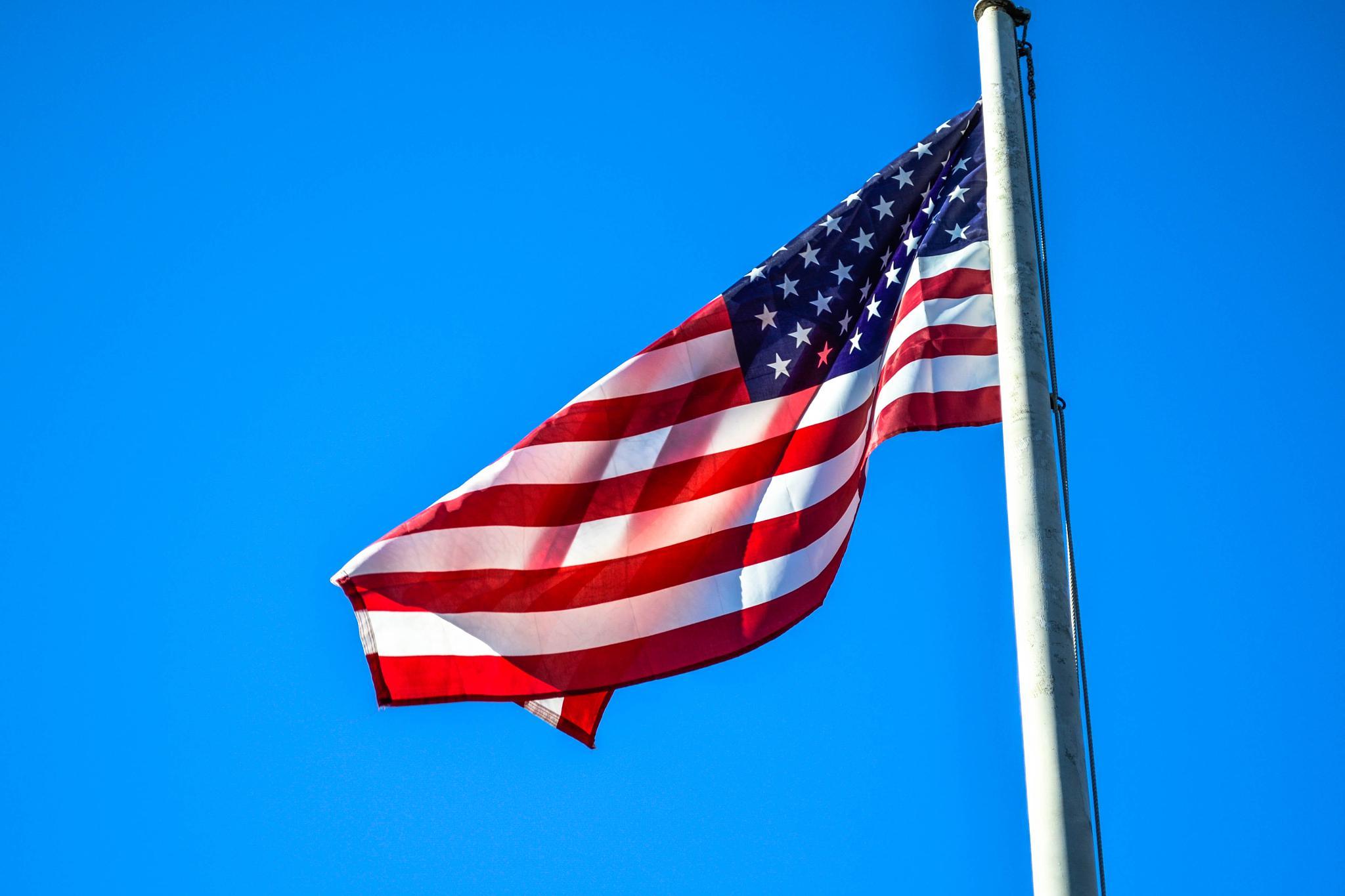 USA flag by jure kralj