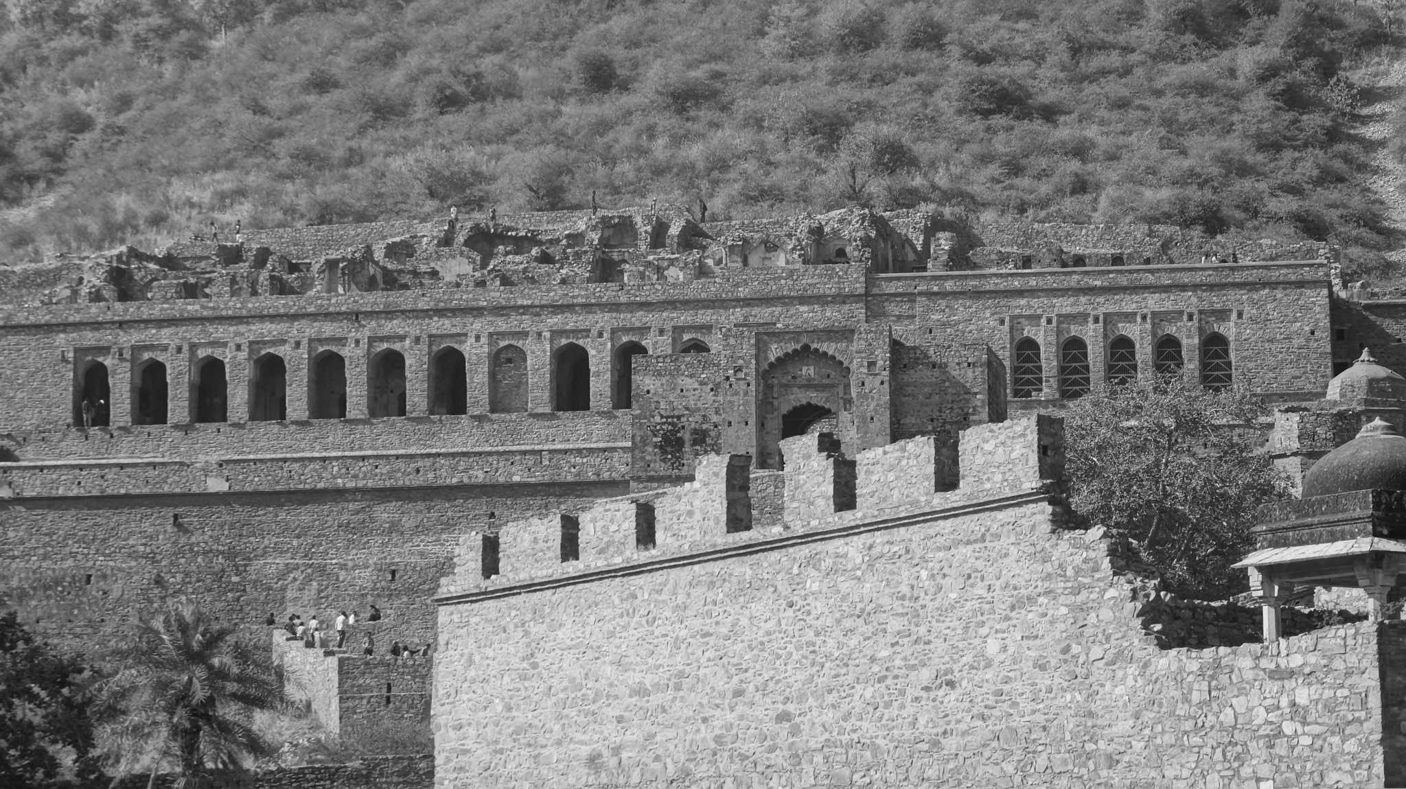 Ruins of Bhangarh - One of India's many haunted place by Shirin Kujur