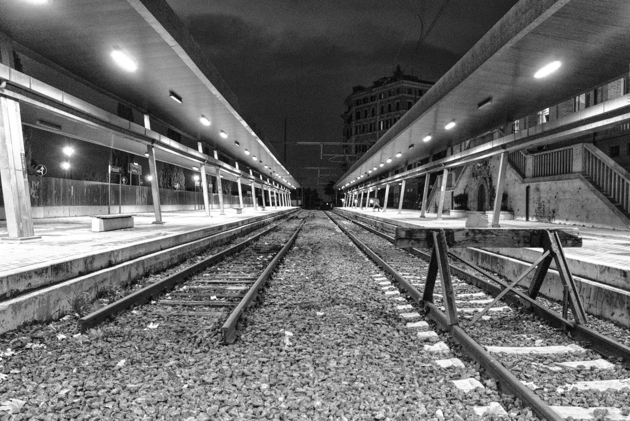 Train station Frascati by Roberto Mandolini