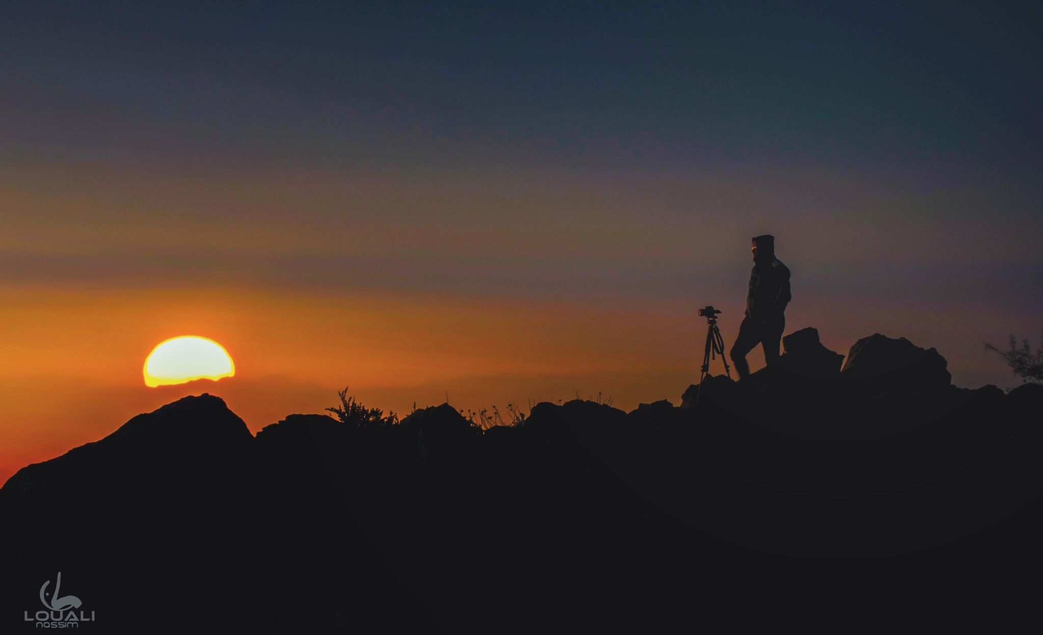 Sunset silhouette  by Nassim louali