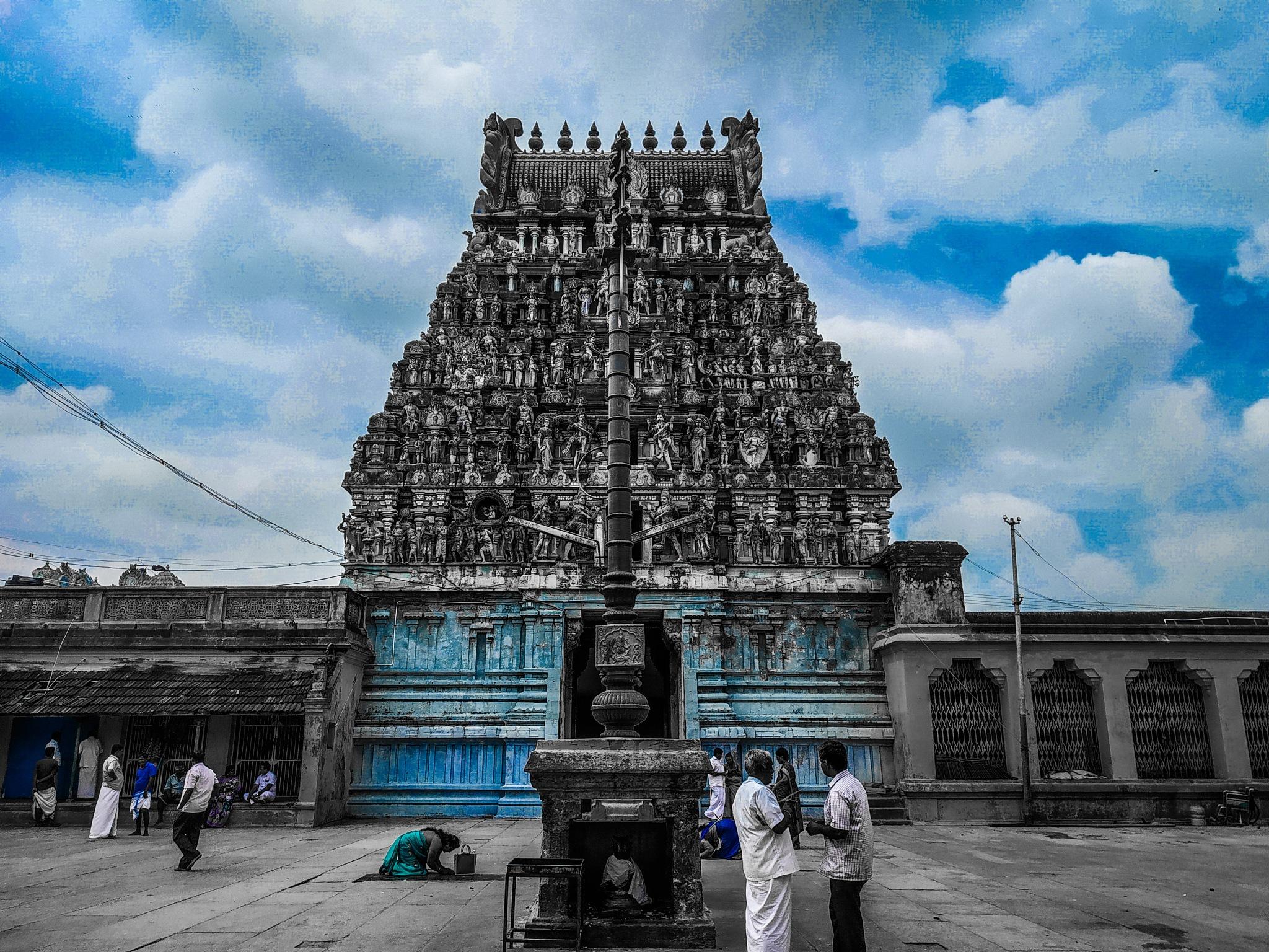 Temple  by Janani Sundaramurthy
