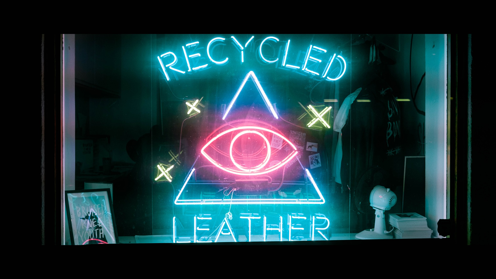 Recycled Leather by Maxi Vazquez