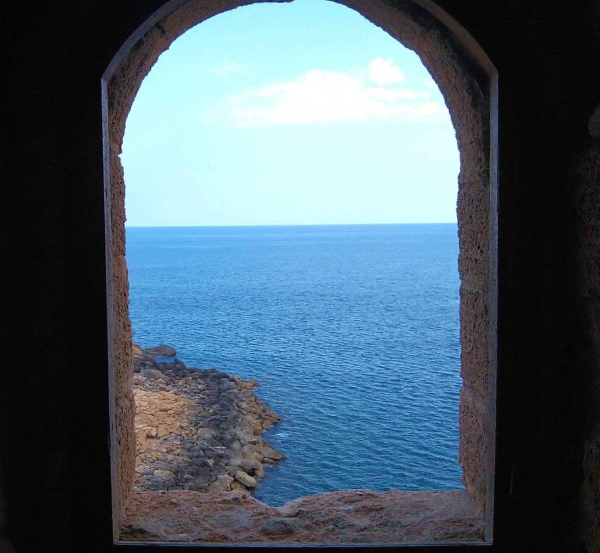 View from Le Castelle by Raffaele Tria