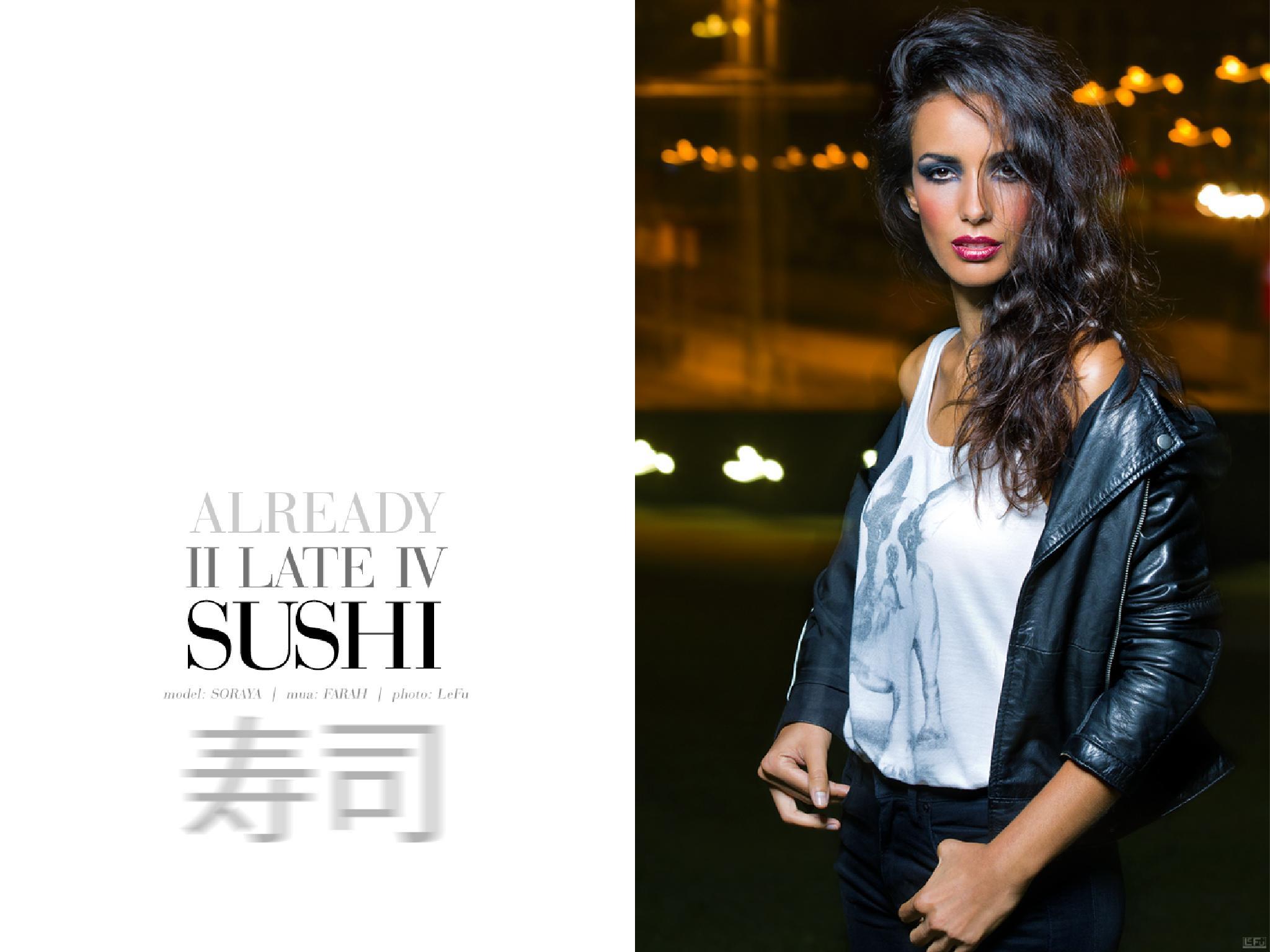 Already 2 late 4 Sushi - V by LeFu