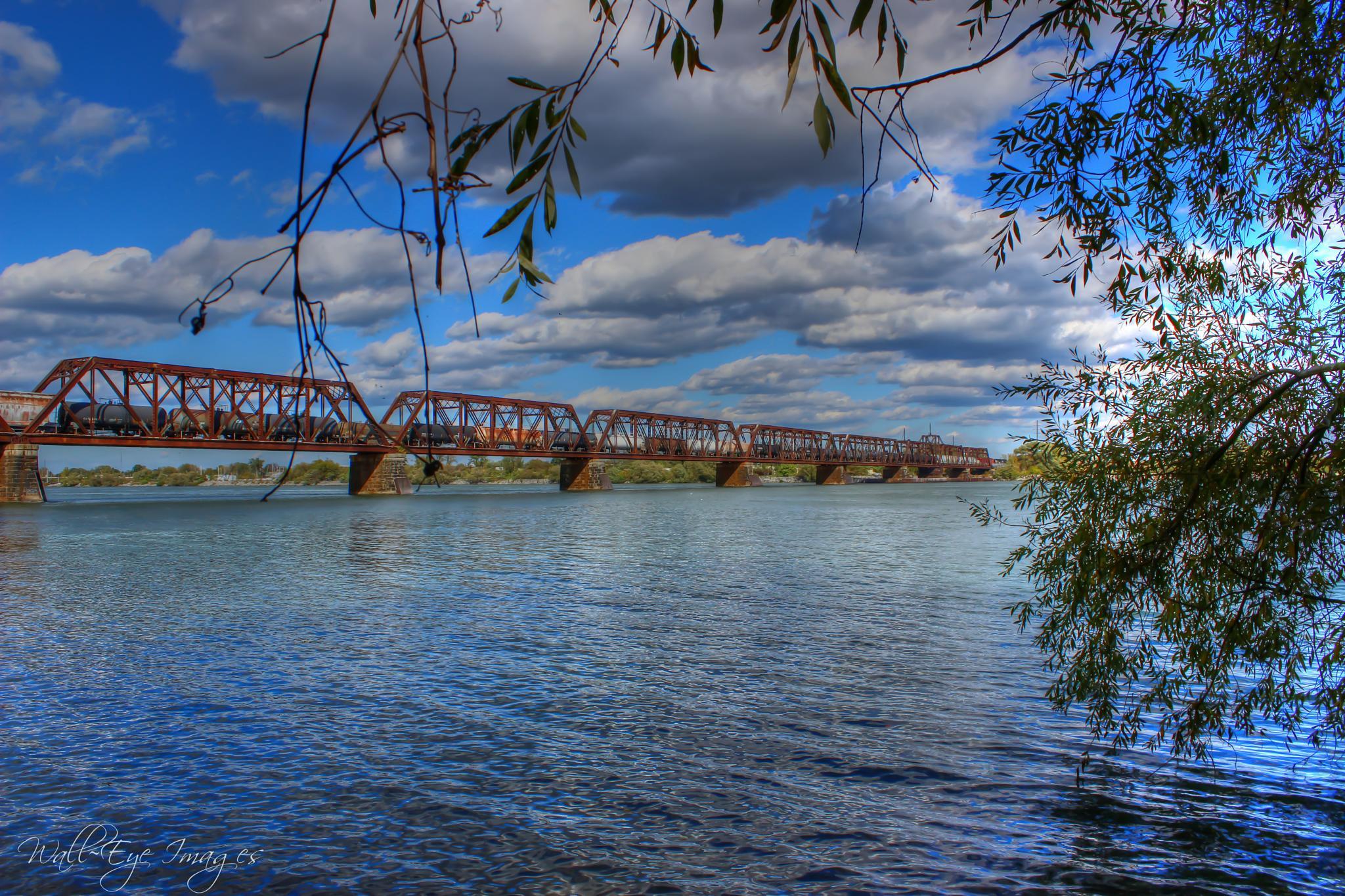 International Train Bridge by WallEye