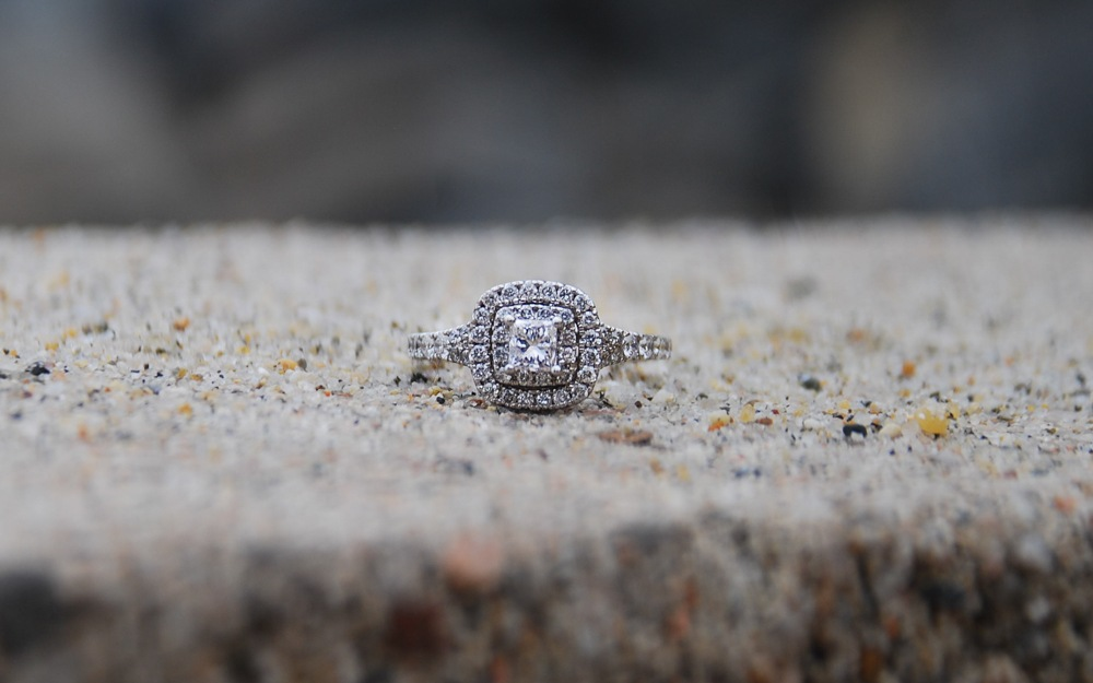 Engagement ring  by Sarah White