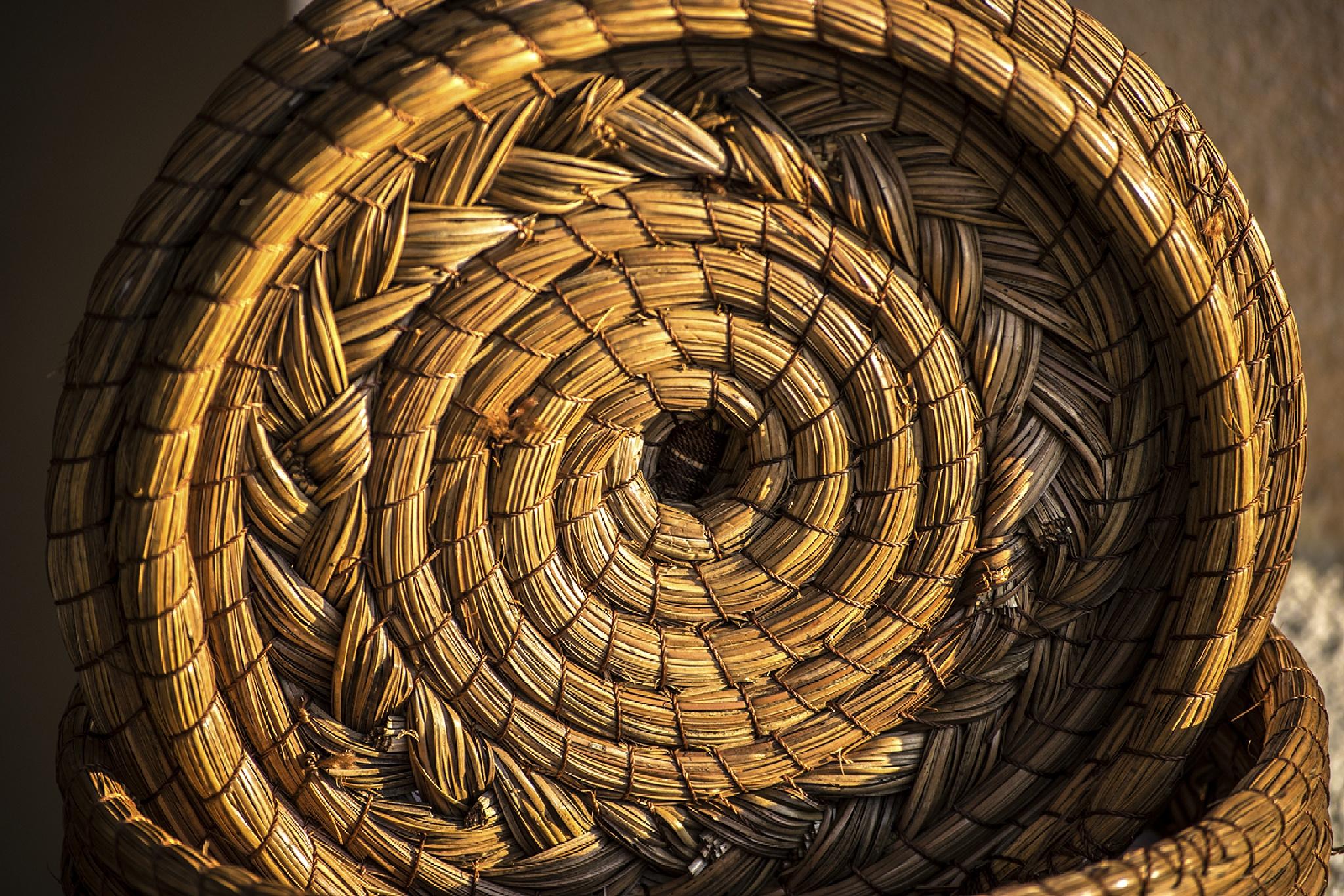 Tortilla's storage basket by Sergio Yorick