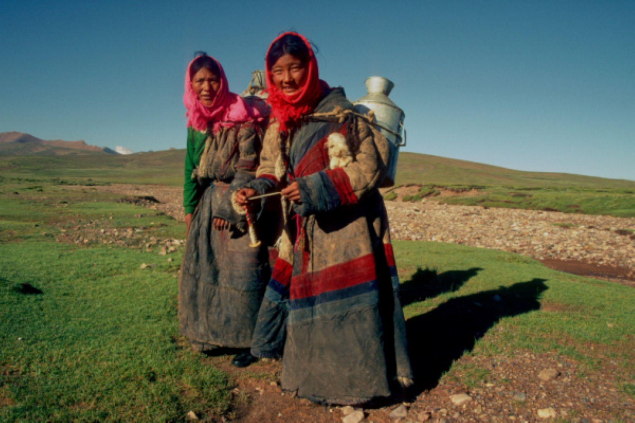 Tibet, China by Masaharu Uemura