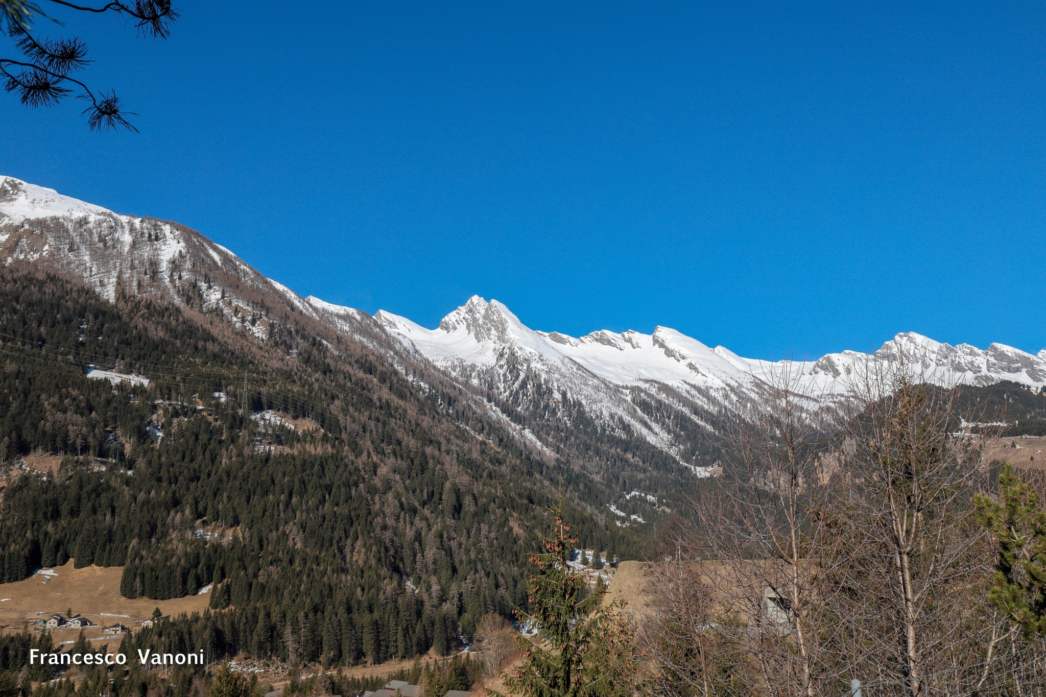 Swiss Alps by Francesco Franz Vanoni