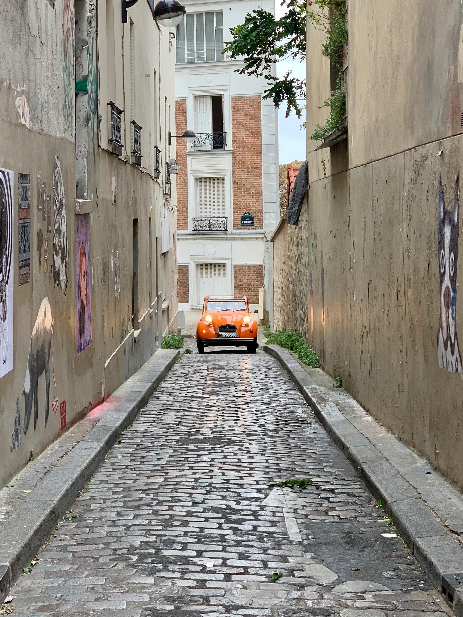 An Alley in Paris by Reid Sanchez