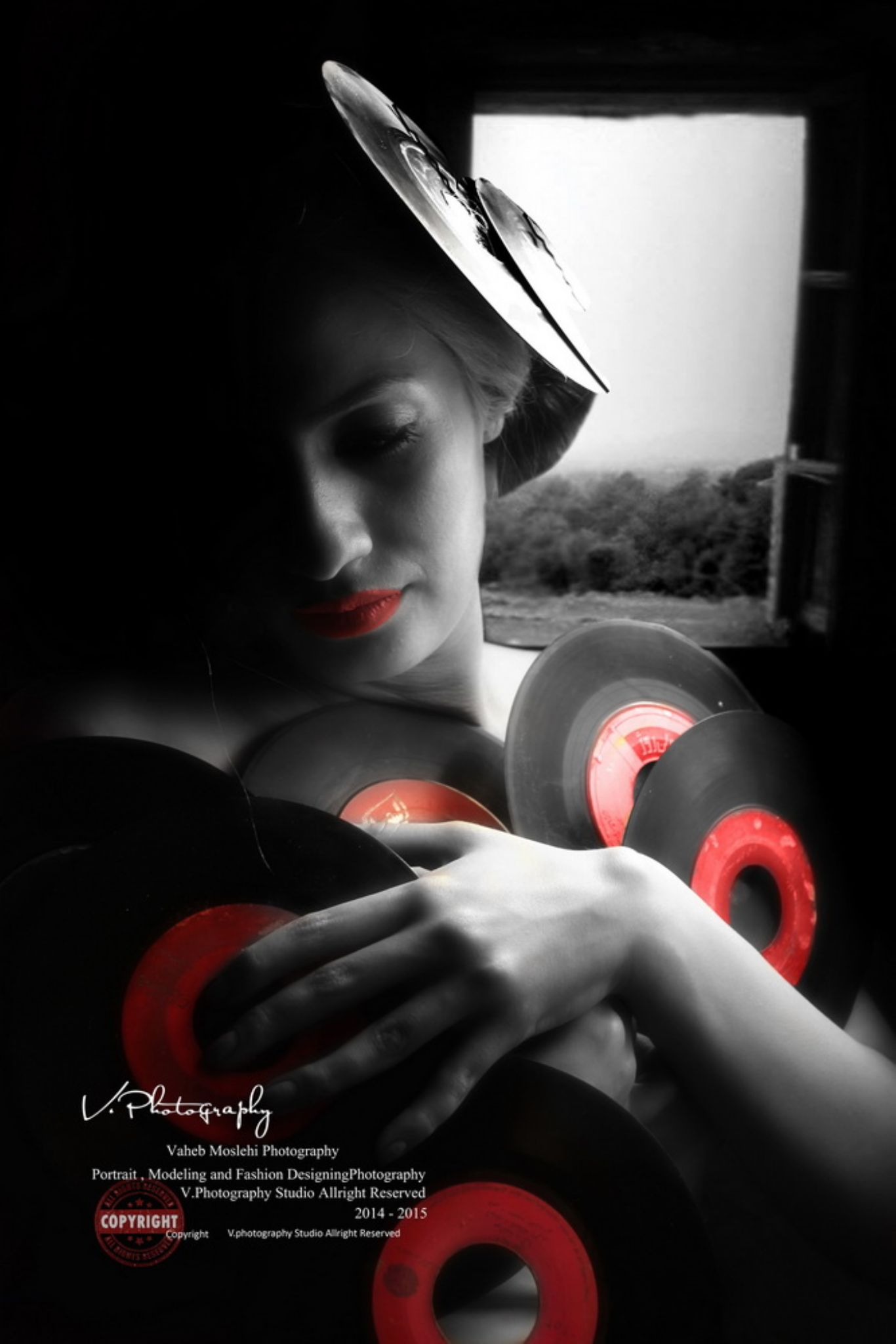 Red In the Dark by Vaaheb Moslehi Fard