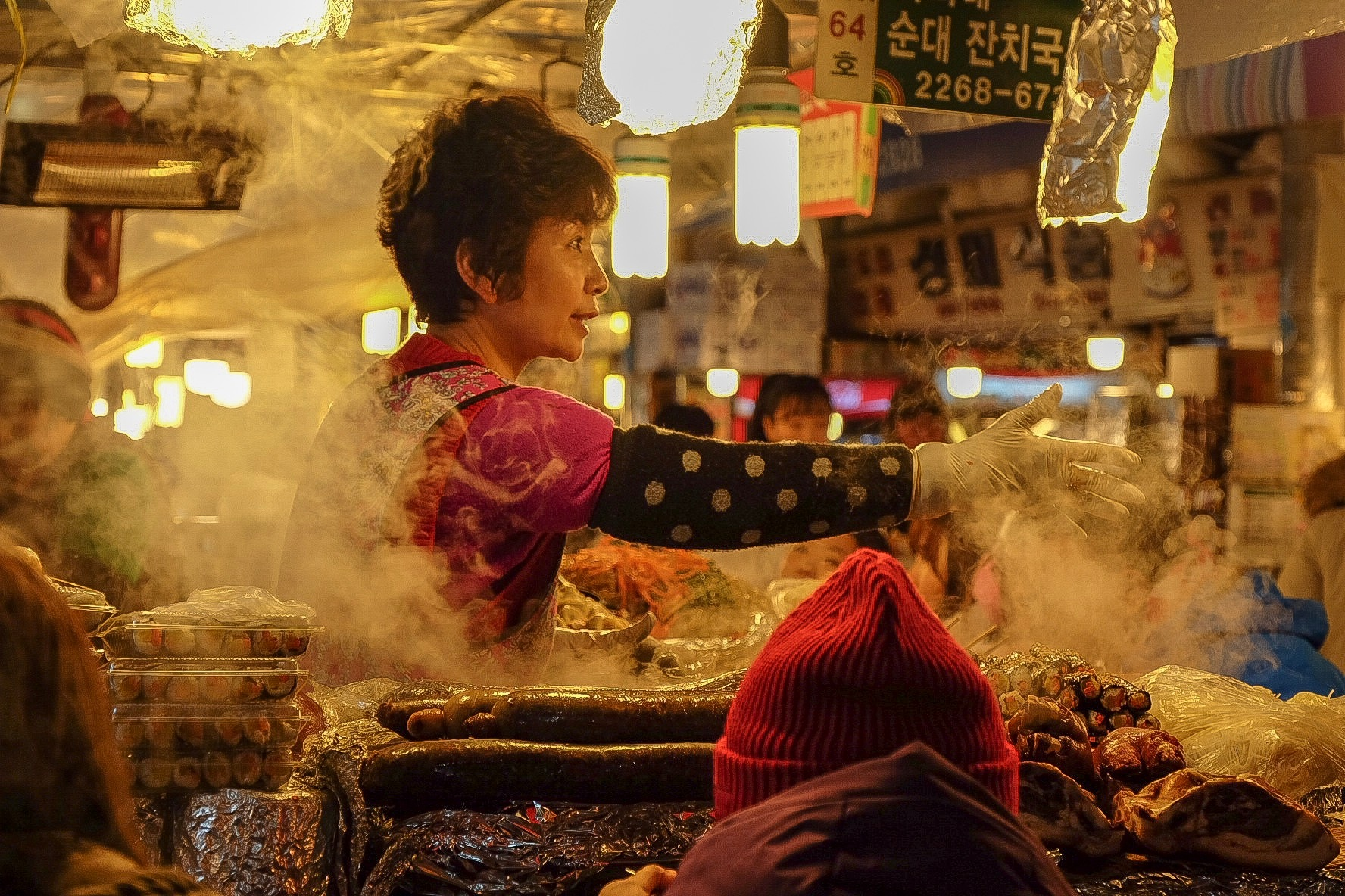 Dinner time at Gwangjang Market by Jake Bo-ot