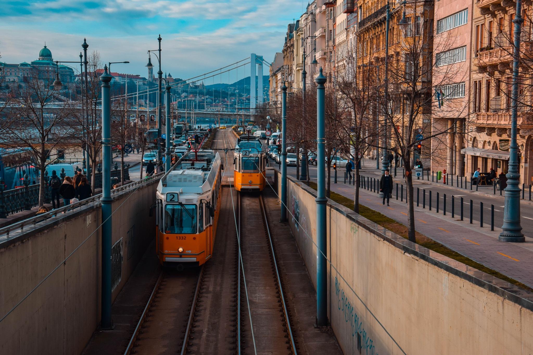 Trams by Nagy-Szabó Viktória