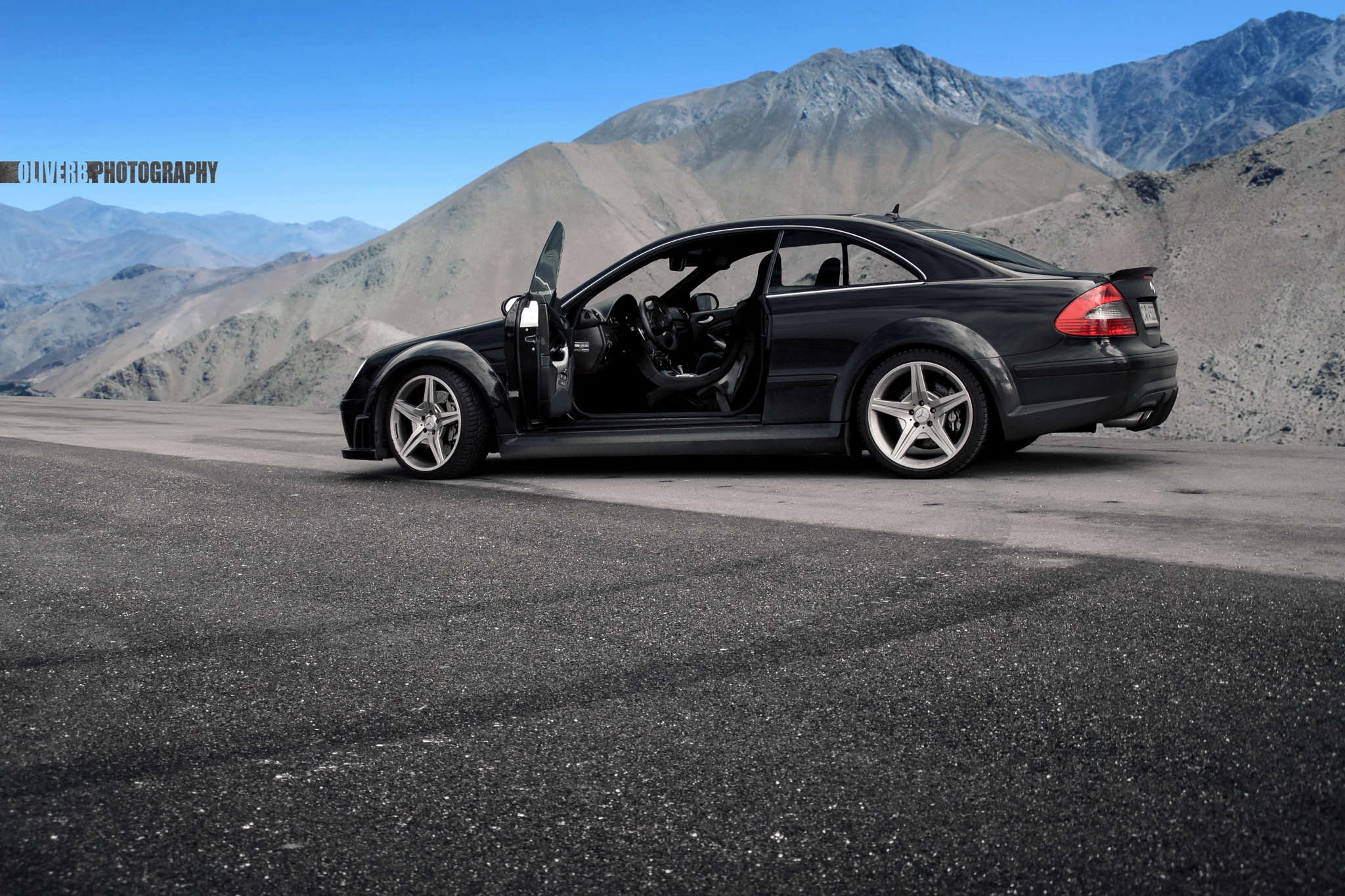 Mercedes CLK Black Series by OliverBPhotograpy