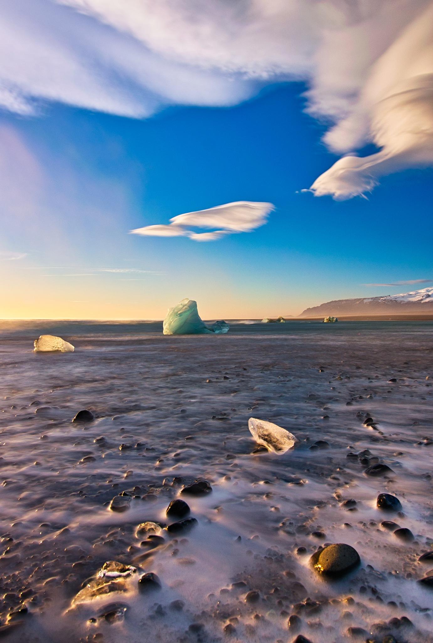 Diamond beach, Iceland by Myk Cousins Photography