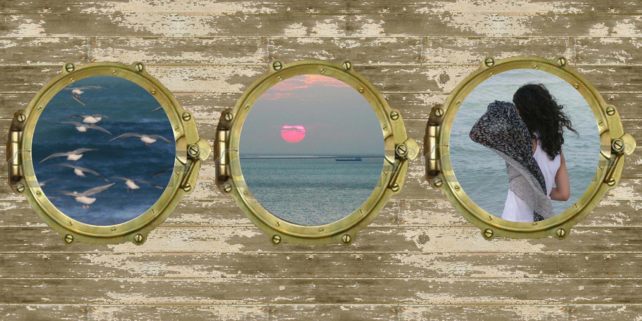 window in boat by Simin.Nejad