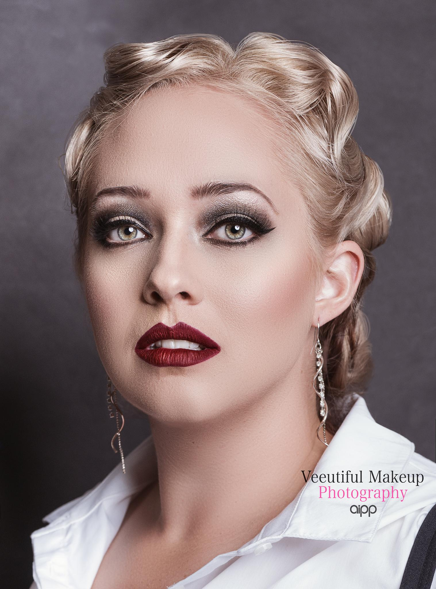 1920s makeup by Viviana Stockwell