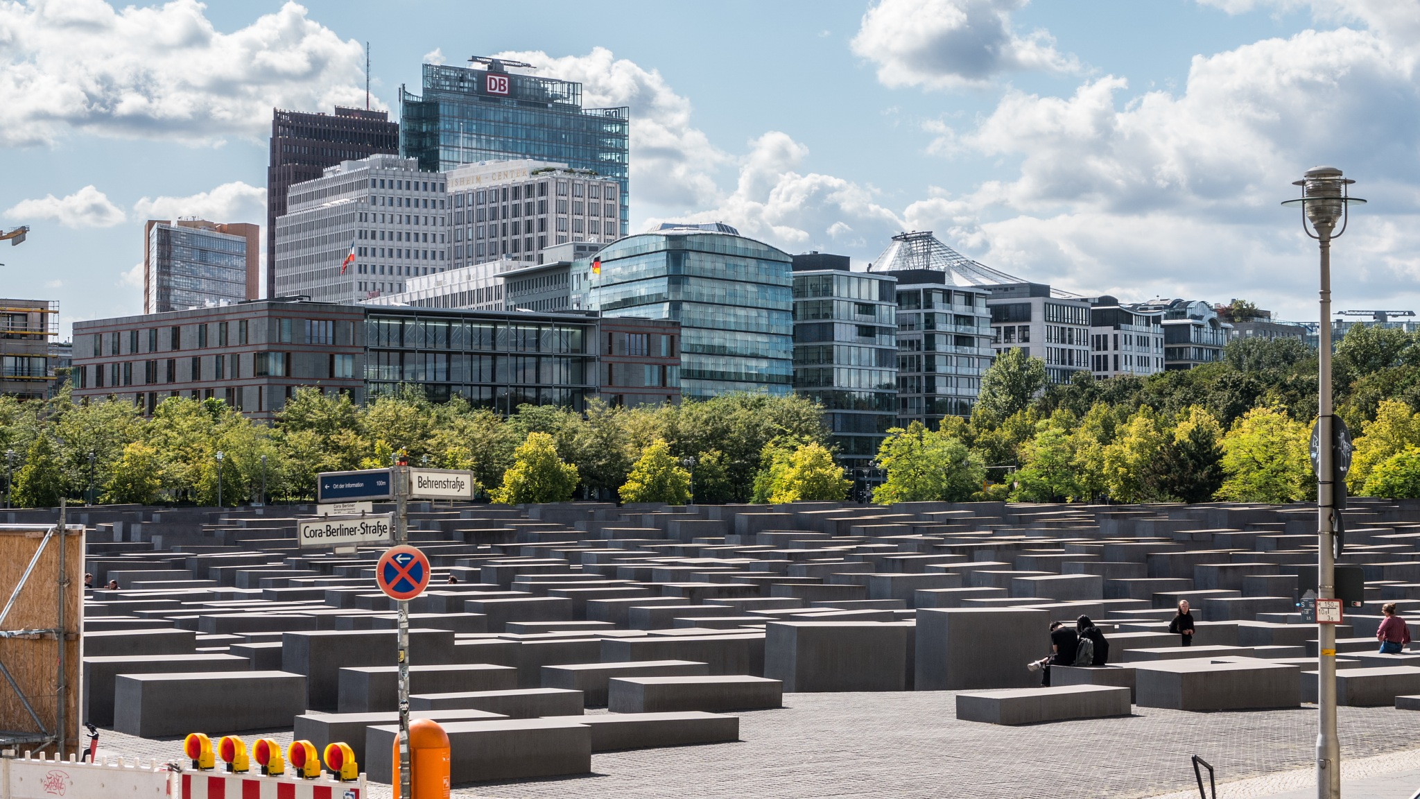 Memorial to the Murdered Jews of Europe by Bernhard