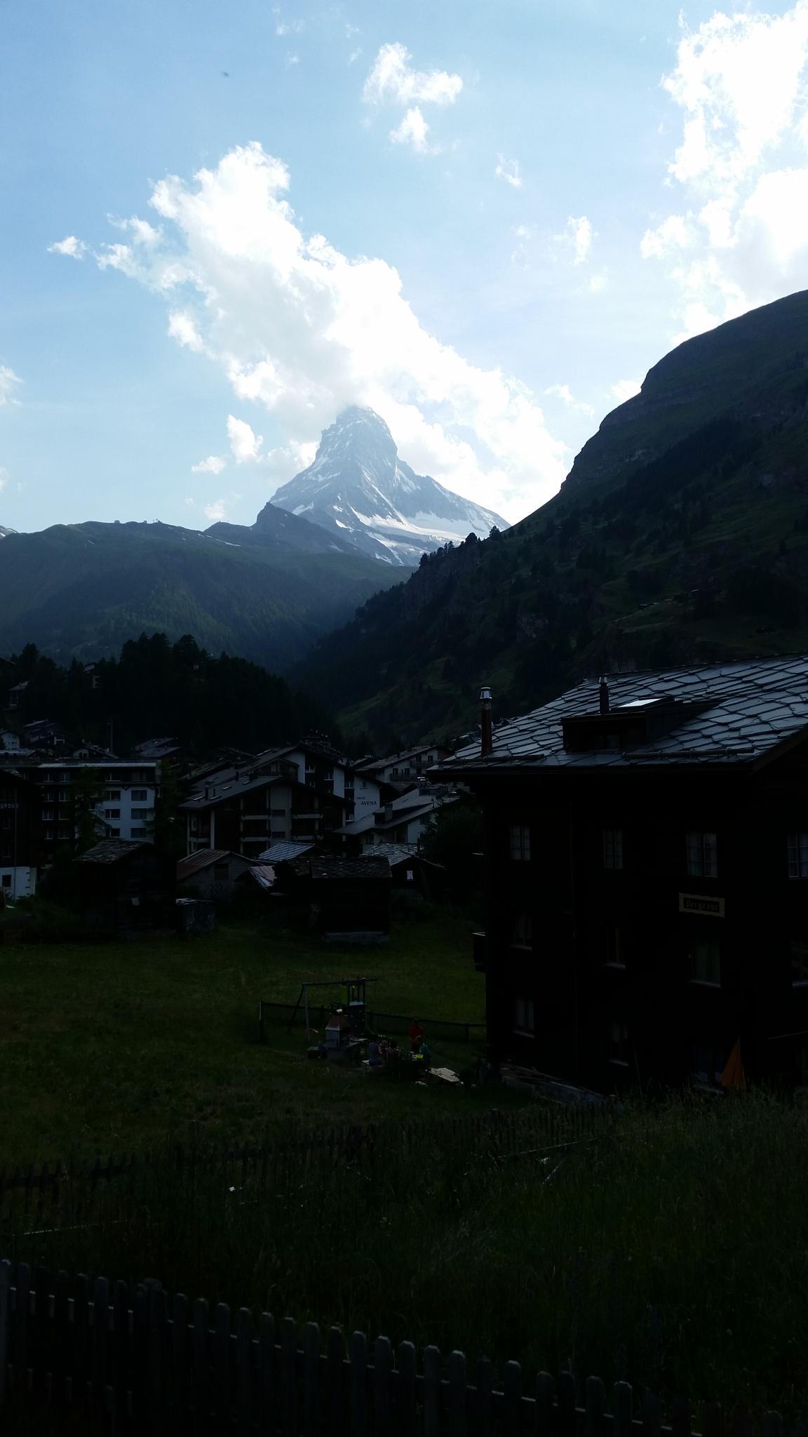 Das Matterhorn by percy ottinger