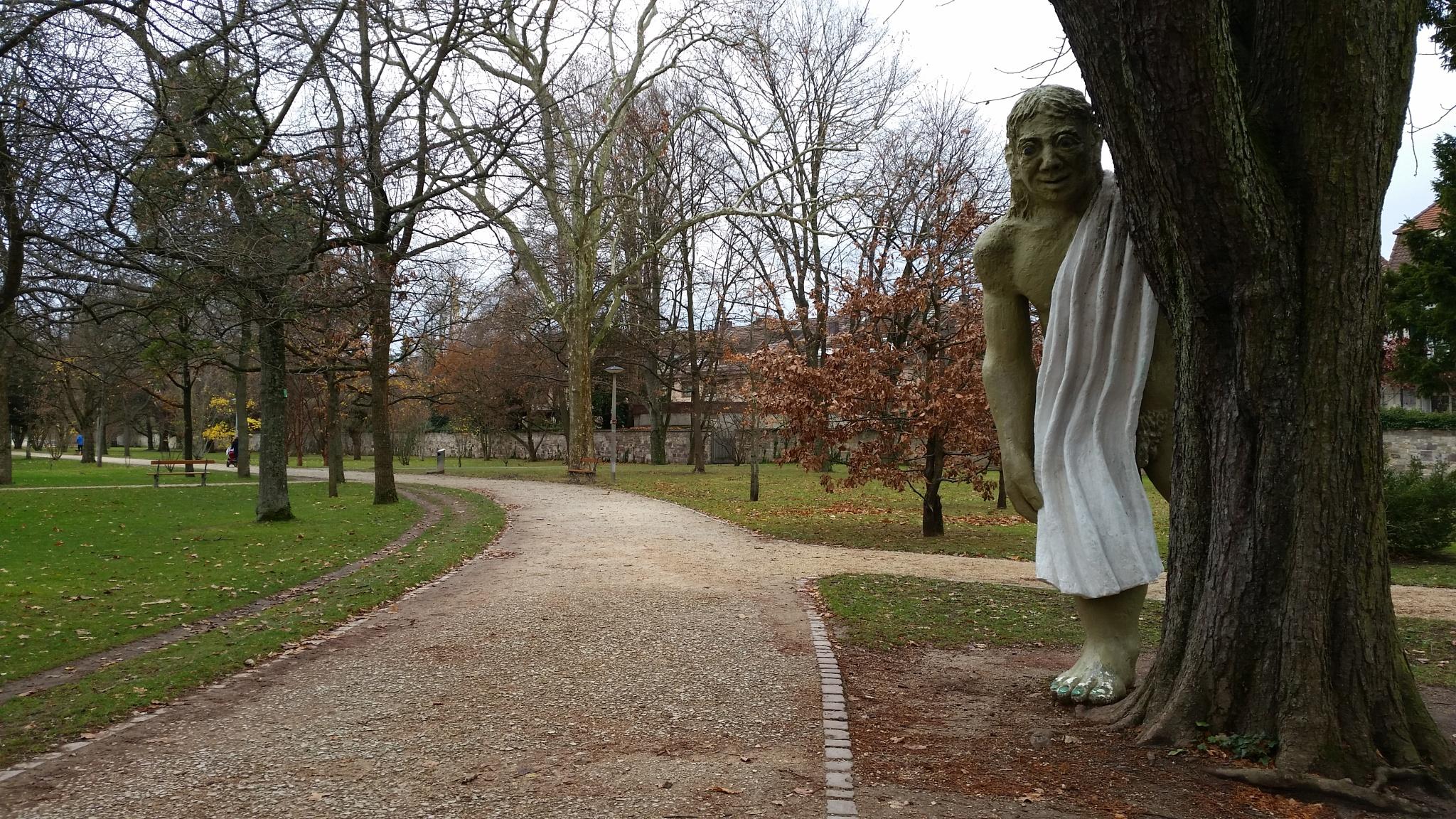 Mein bester Freund im Kannenfeldpark by percy ottinger