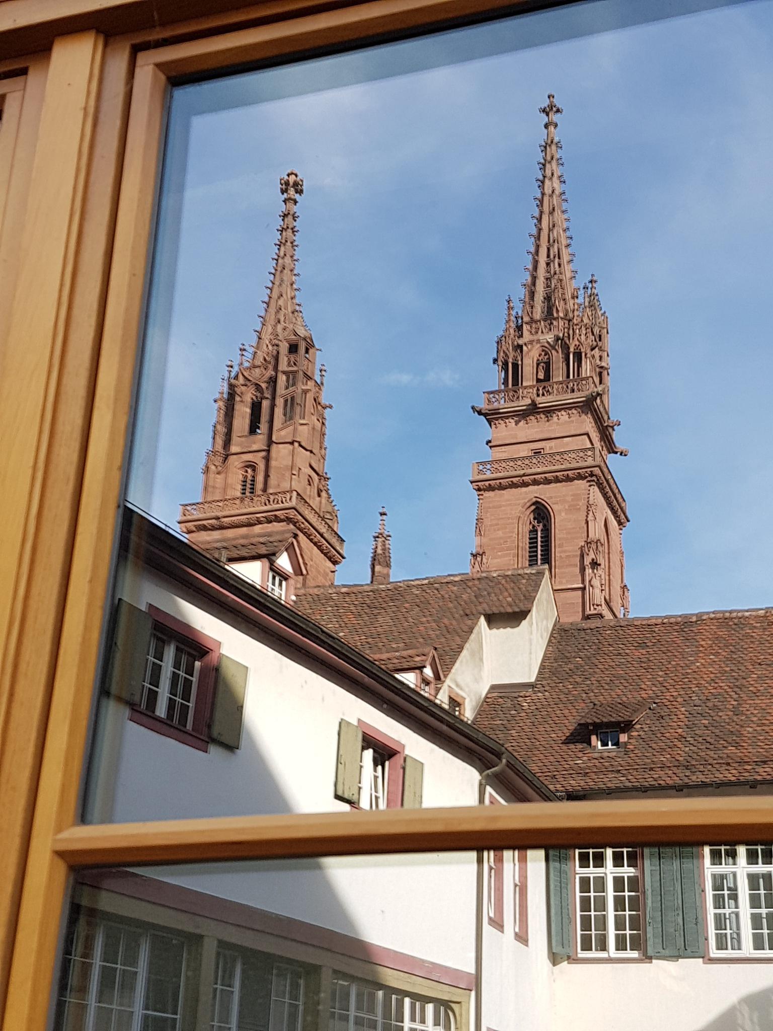Das Münster von Basel by percy ottinger