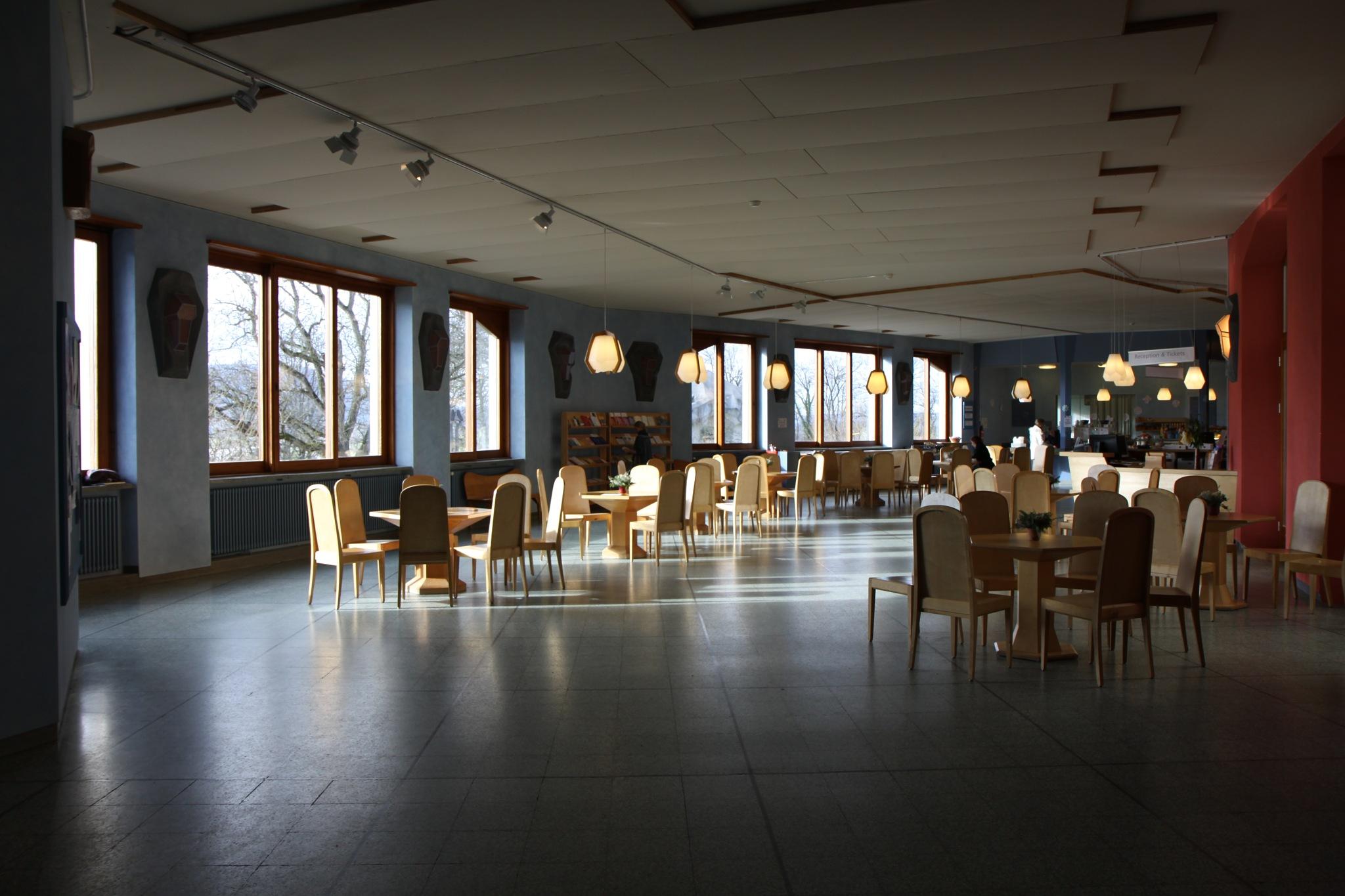 Im Goetheanum by percy ottinger