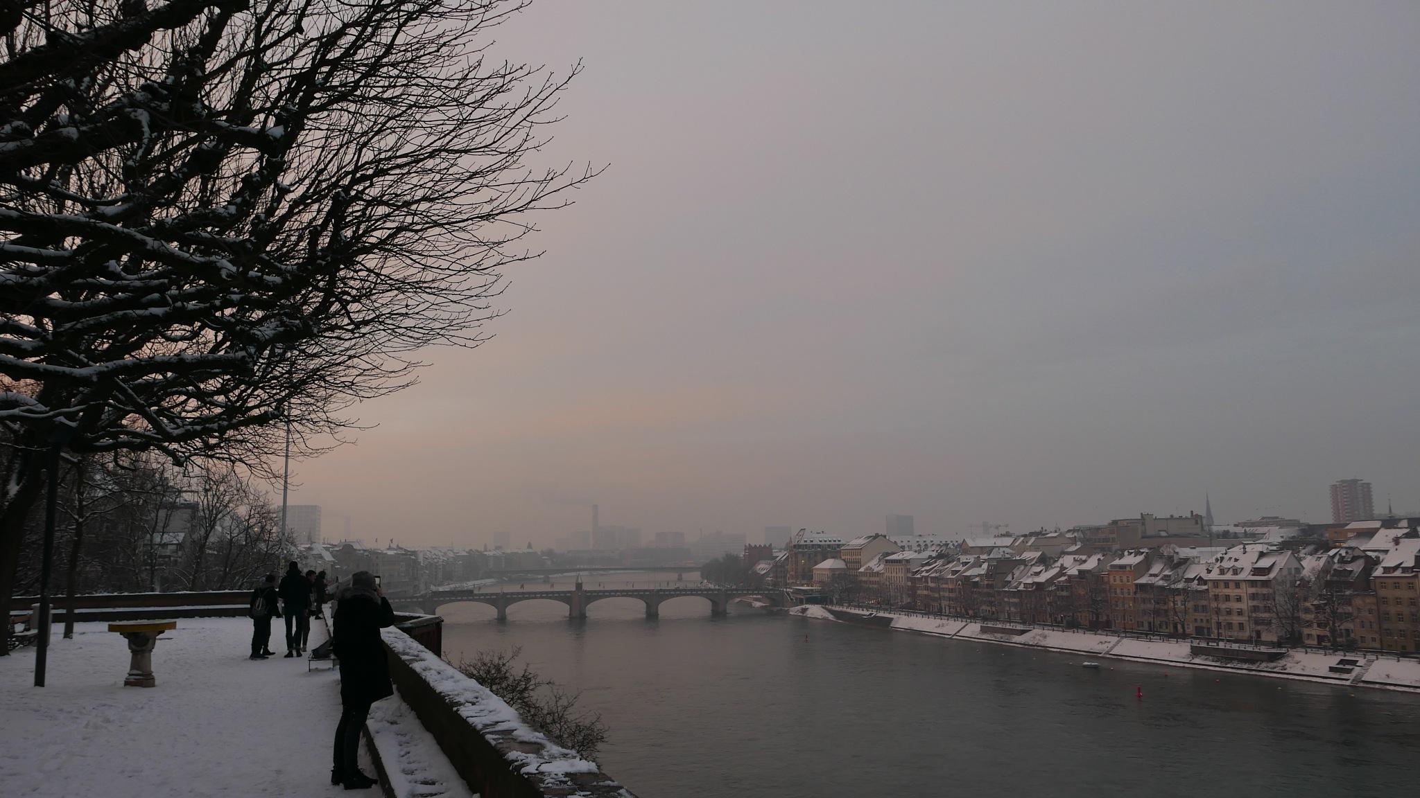 Die Pfalz am Winter. by percy ottinger