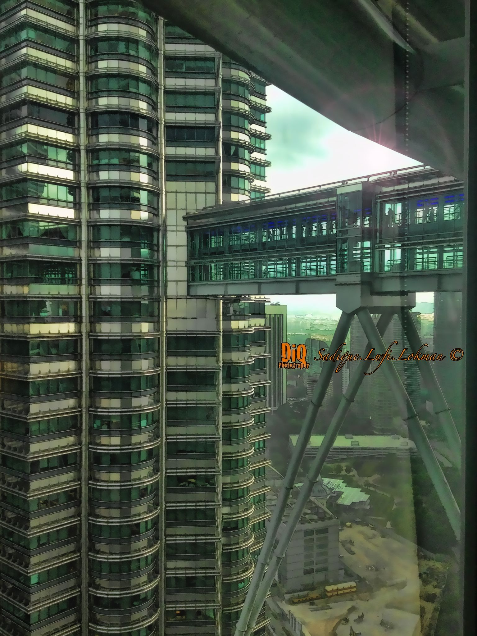 Level 40, Tower 1, PETRONAS Twin Towers by Sadique Lufi Lokman
