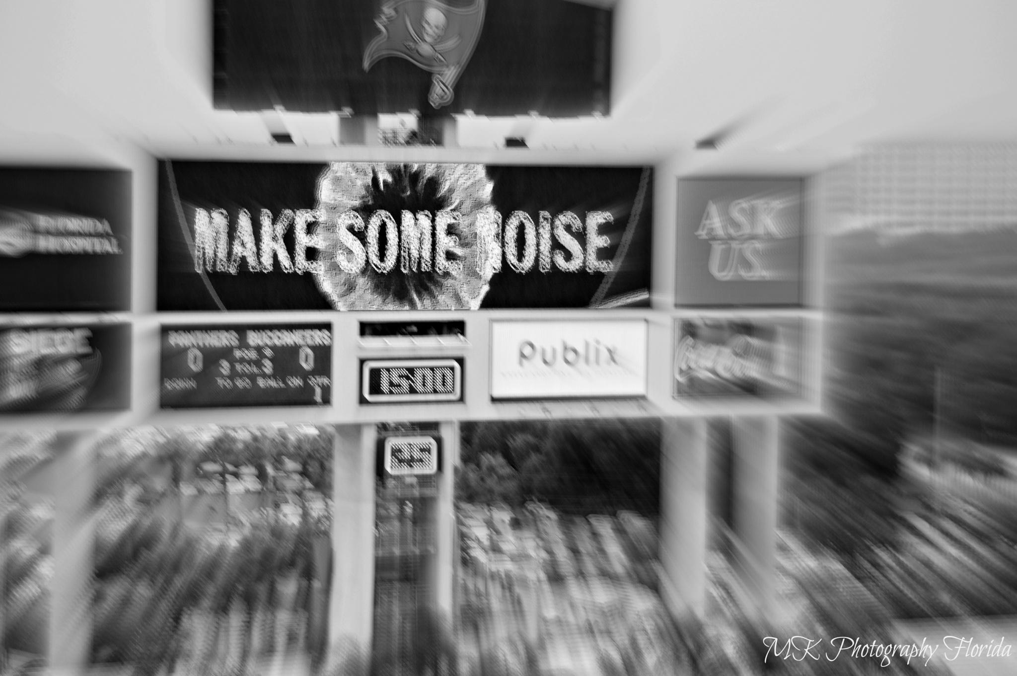 """Make Some Noise"" 2015 by MarleneKoerick"