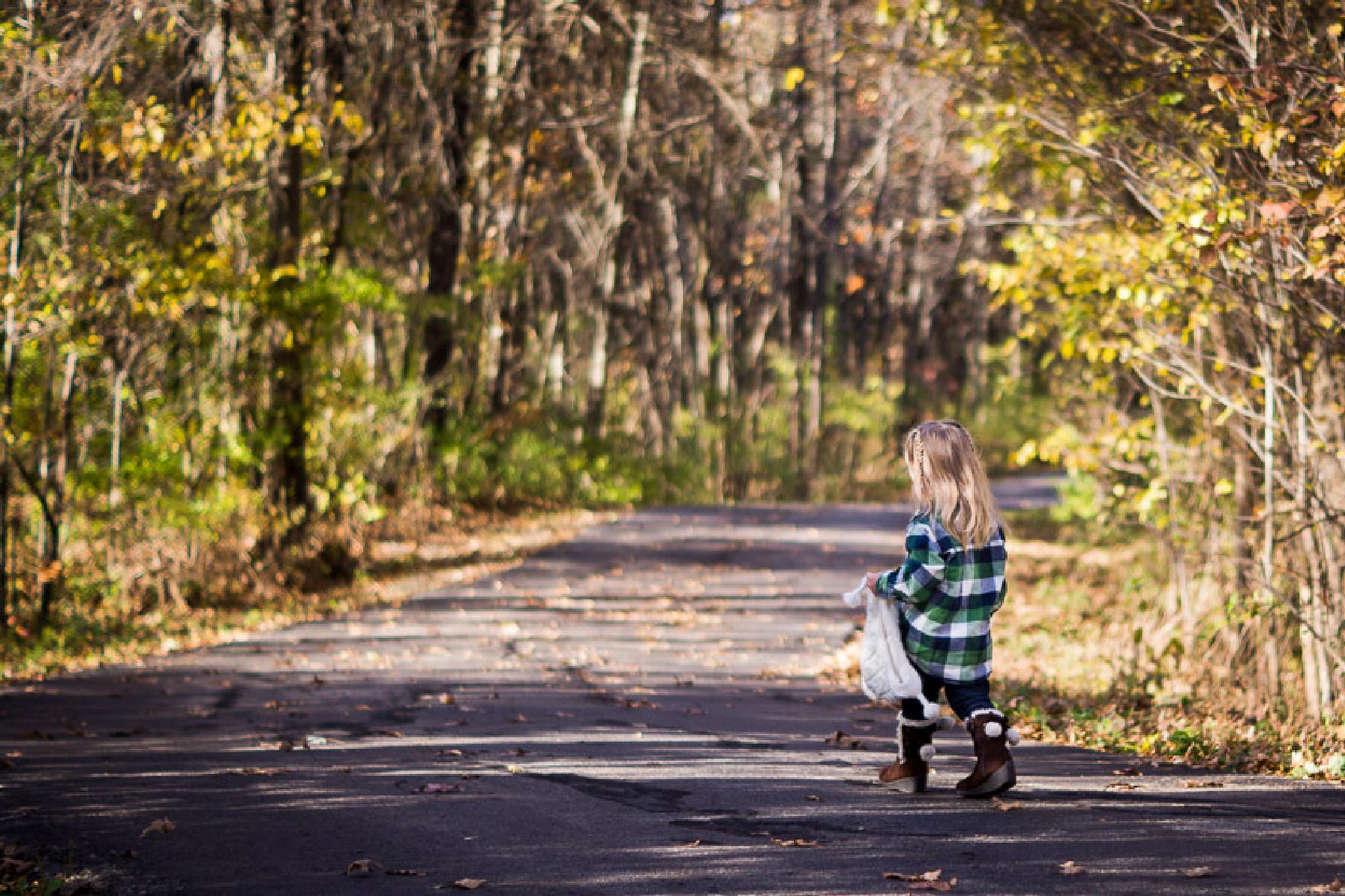 A long walk by Janell Harris