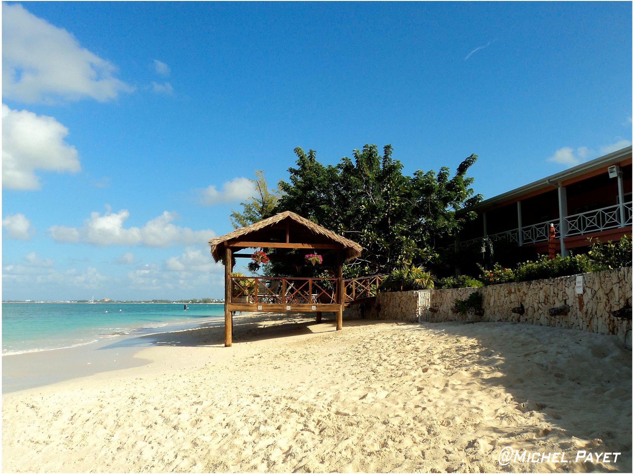 Caymans island...beach! by Michel Payet