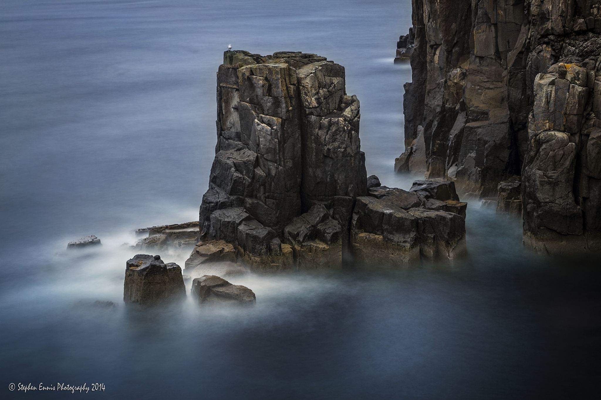 Sea Stack by Stephen Ennis Photography
