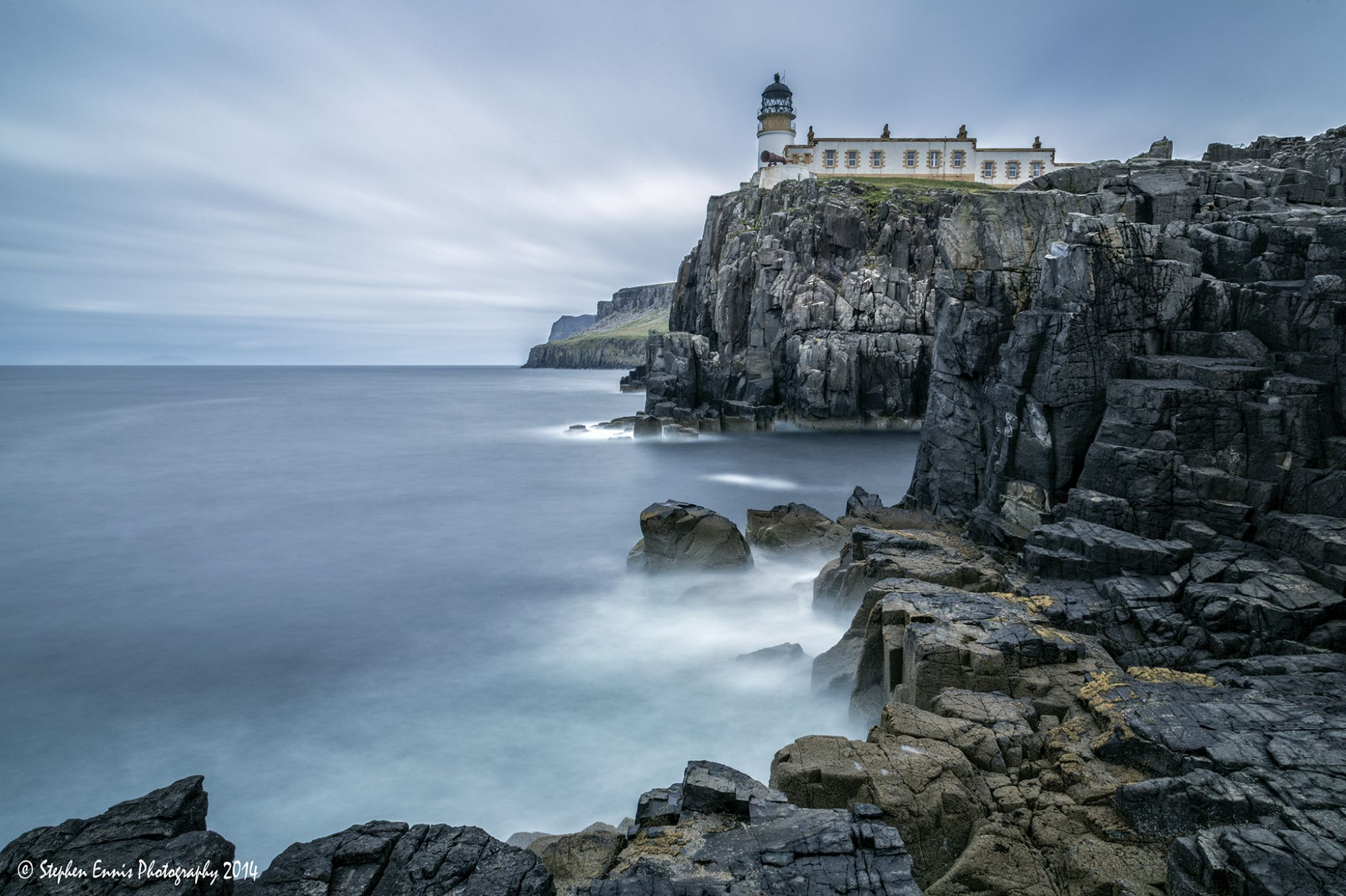 Neist Point II by Stephen Ennis Photography