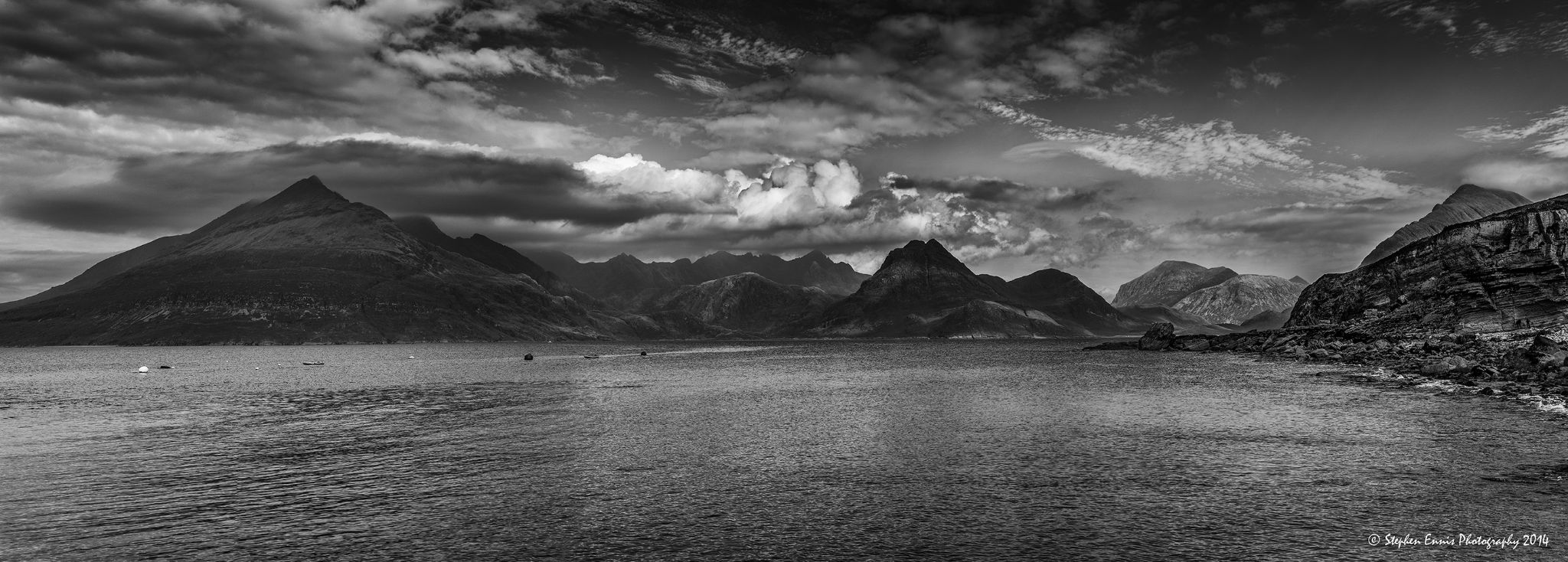 Cuillin Panorama by Stephen Ennis Photography
