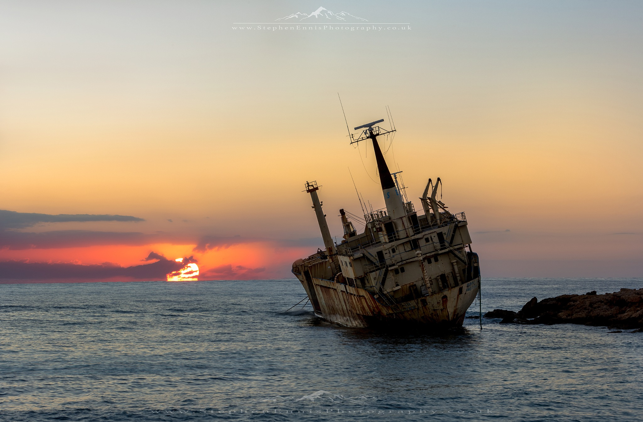 Edro III @ Sunset II by Stephen Ennis Photography