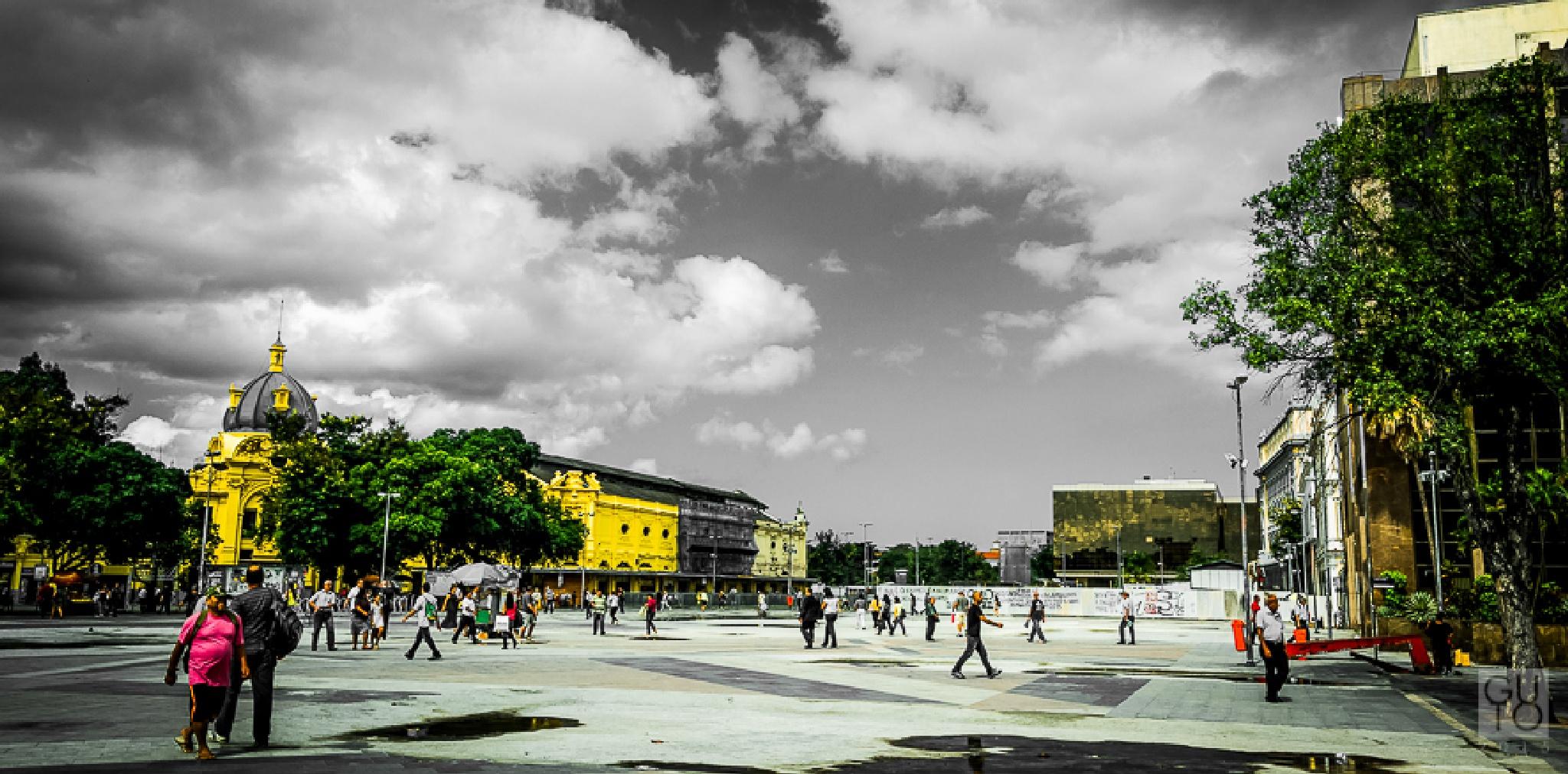 Praça XV - Rio de Janeiro by Luis De Paula
