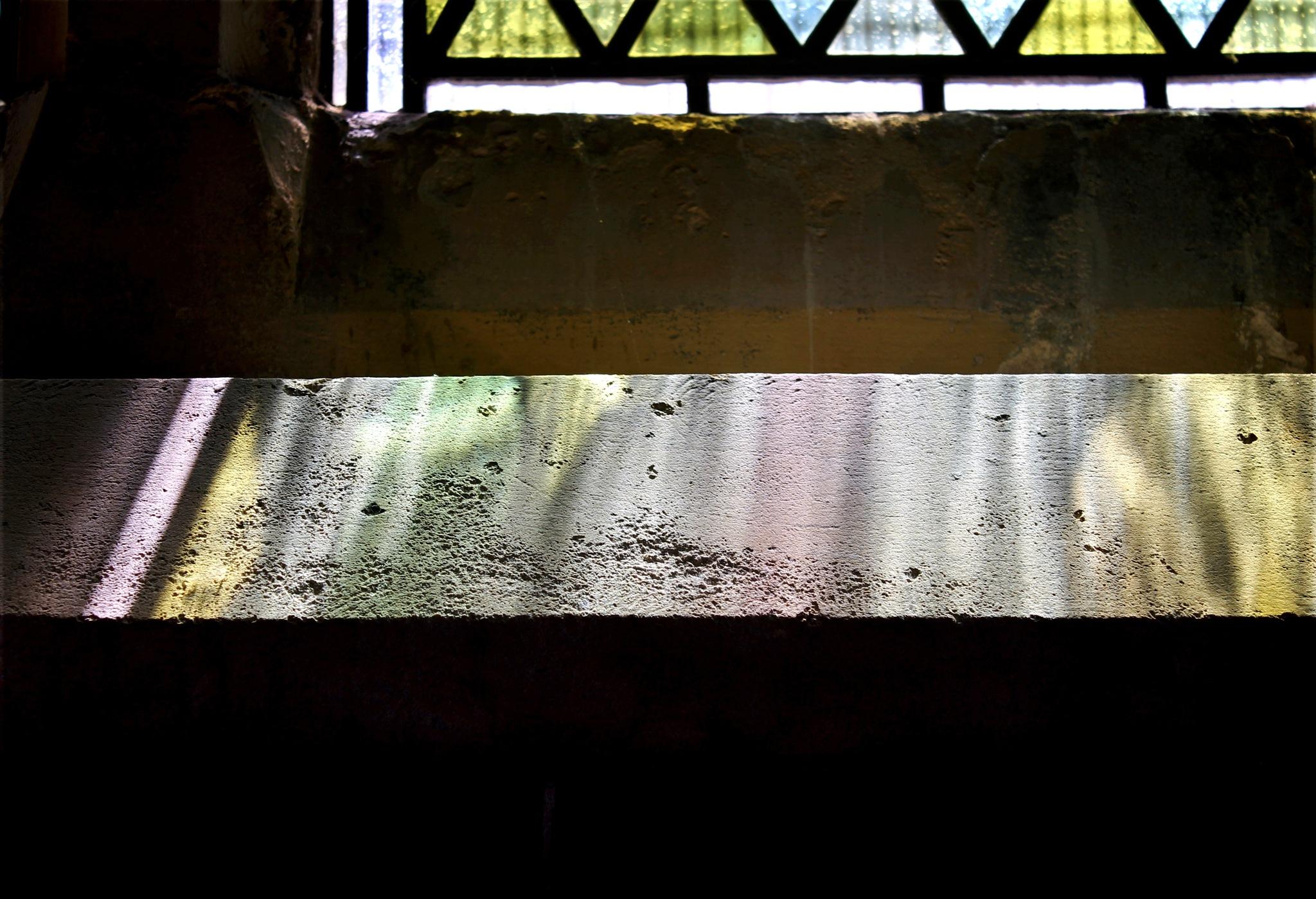 Below the window ledge  by Helen Burridge
