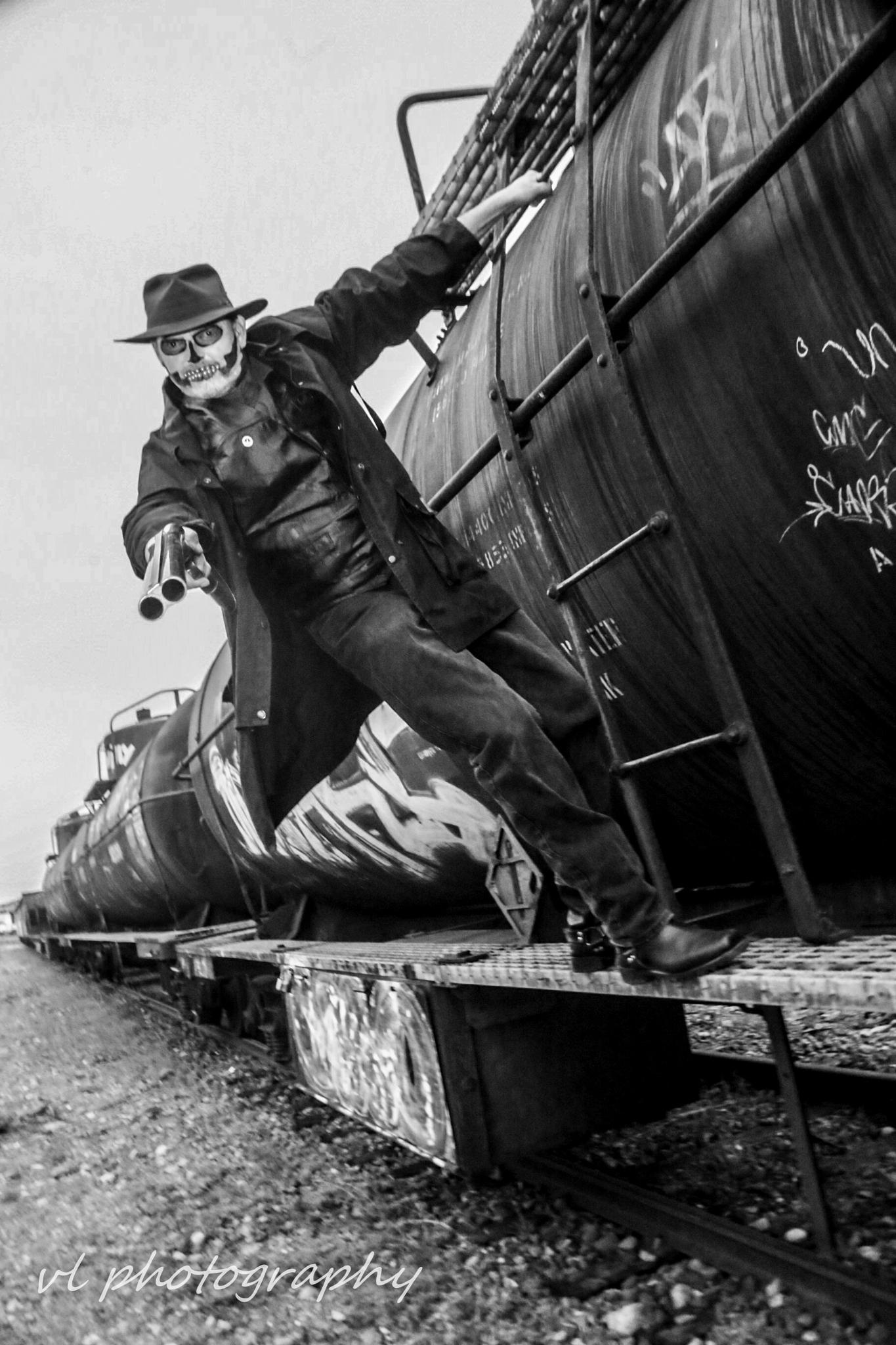 the train heist  by darren labiuk
