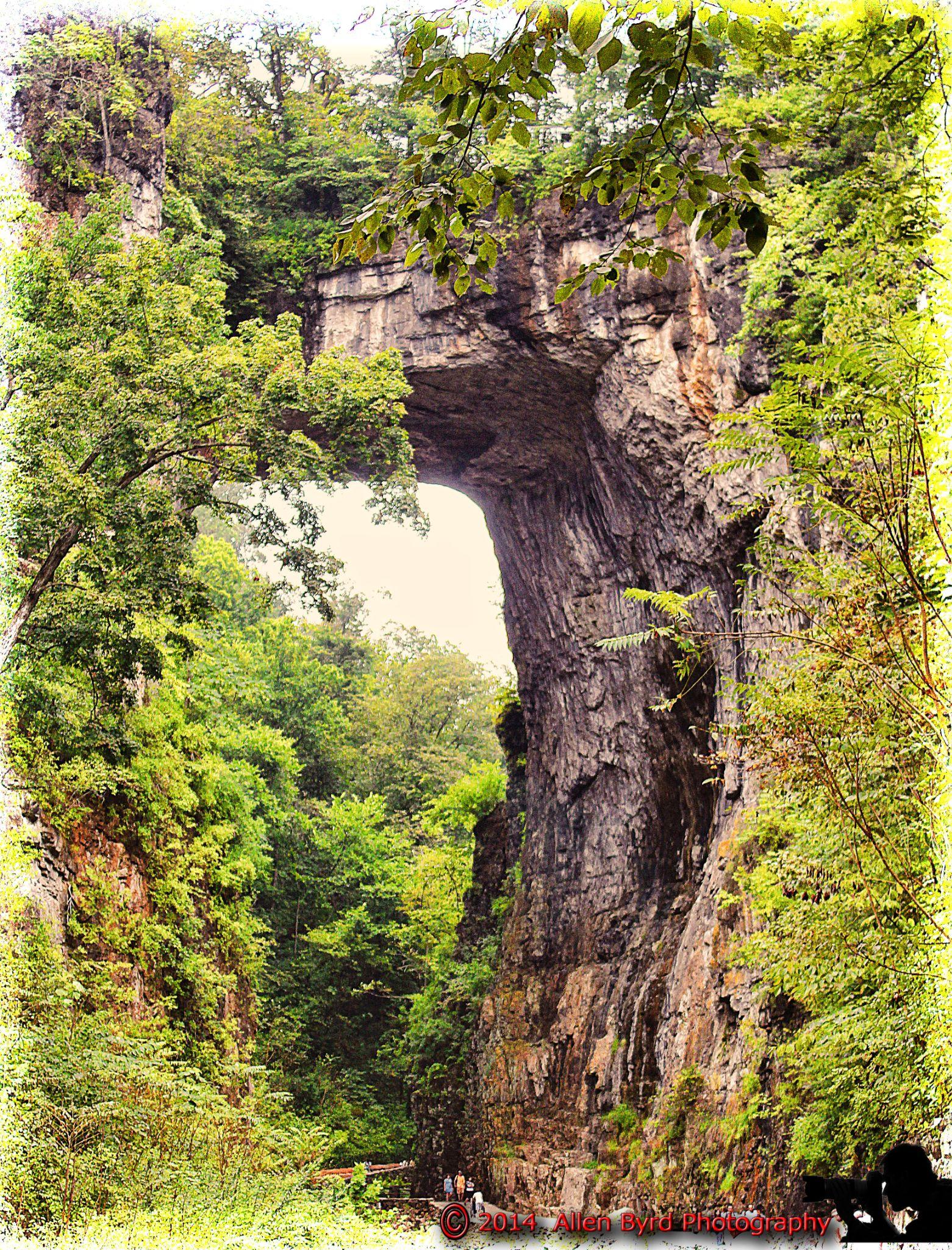 natural bridge-9 by Allen Byrd Photography