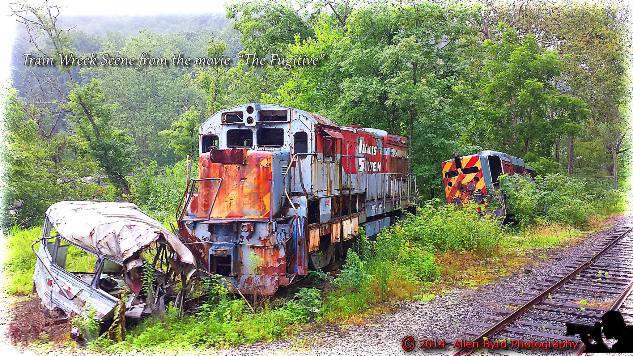 fugitive train wreck-1 by Allen Byrd Photography