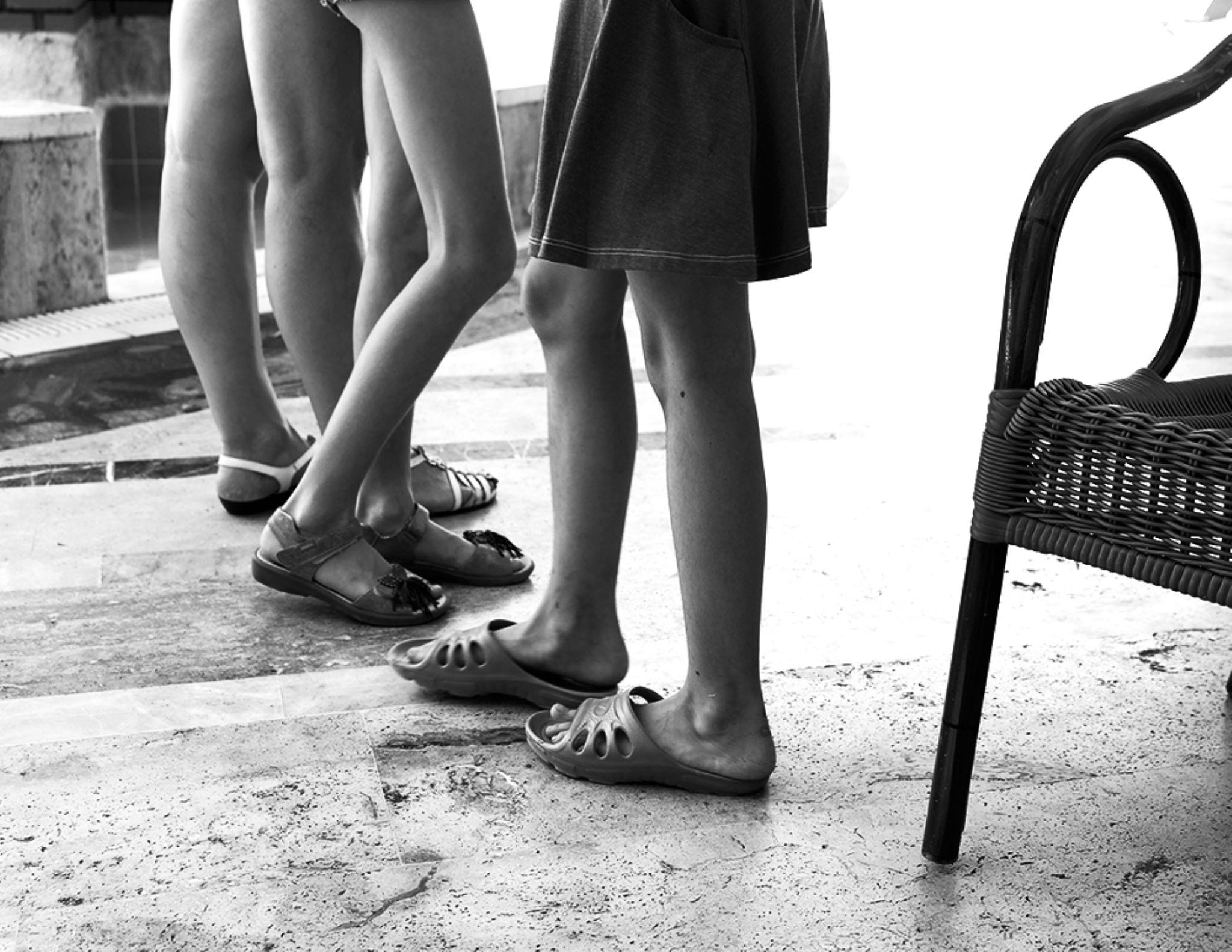 Standing affection by Ziya YILDIRIM