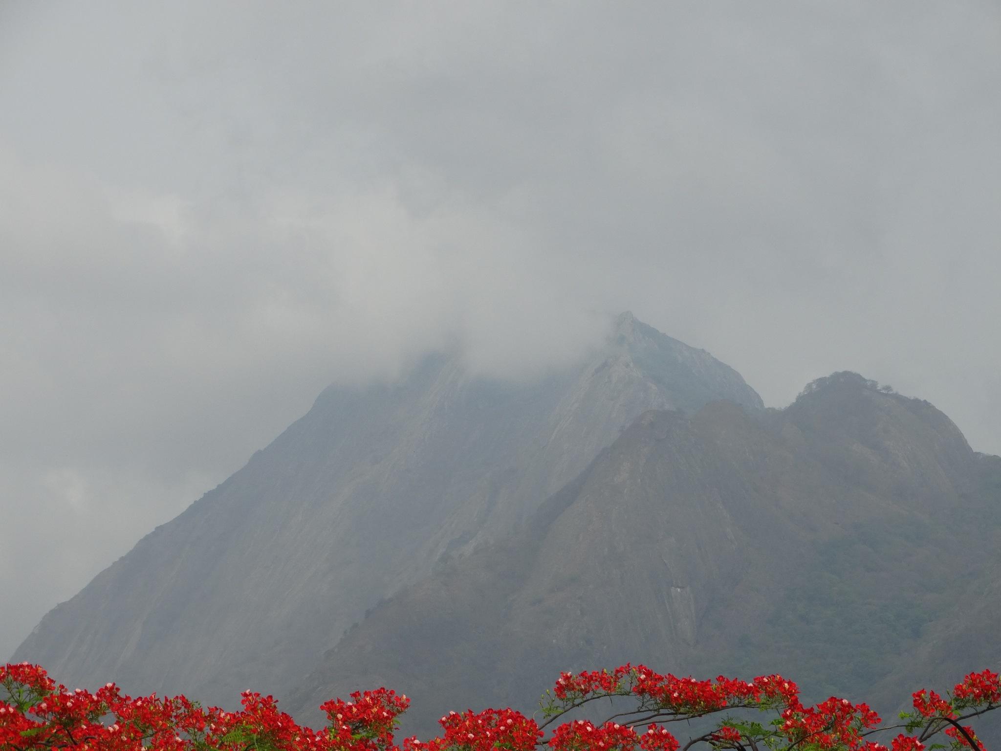 Cloudy Mountain by Sandeep Sandy